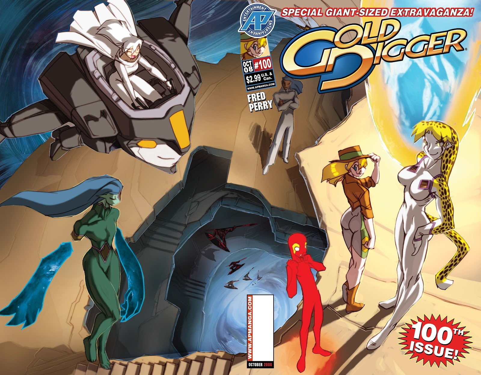 Gold Digger (1999) Issue #100 #100 - English 1