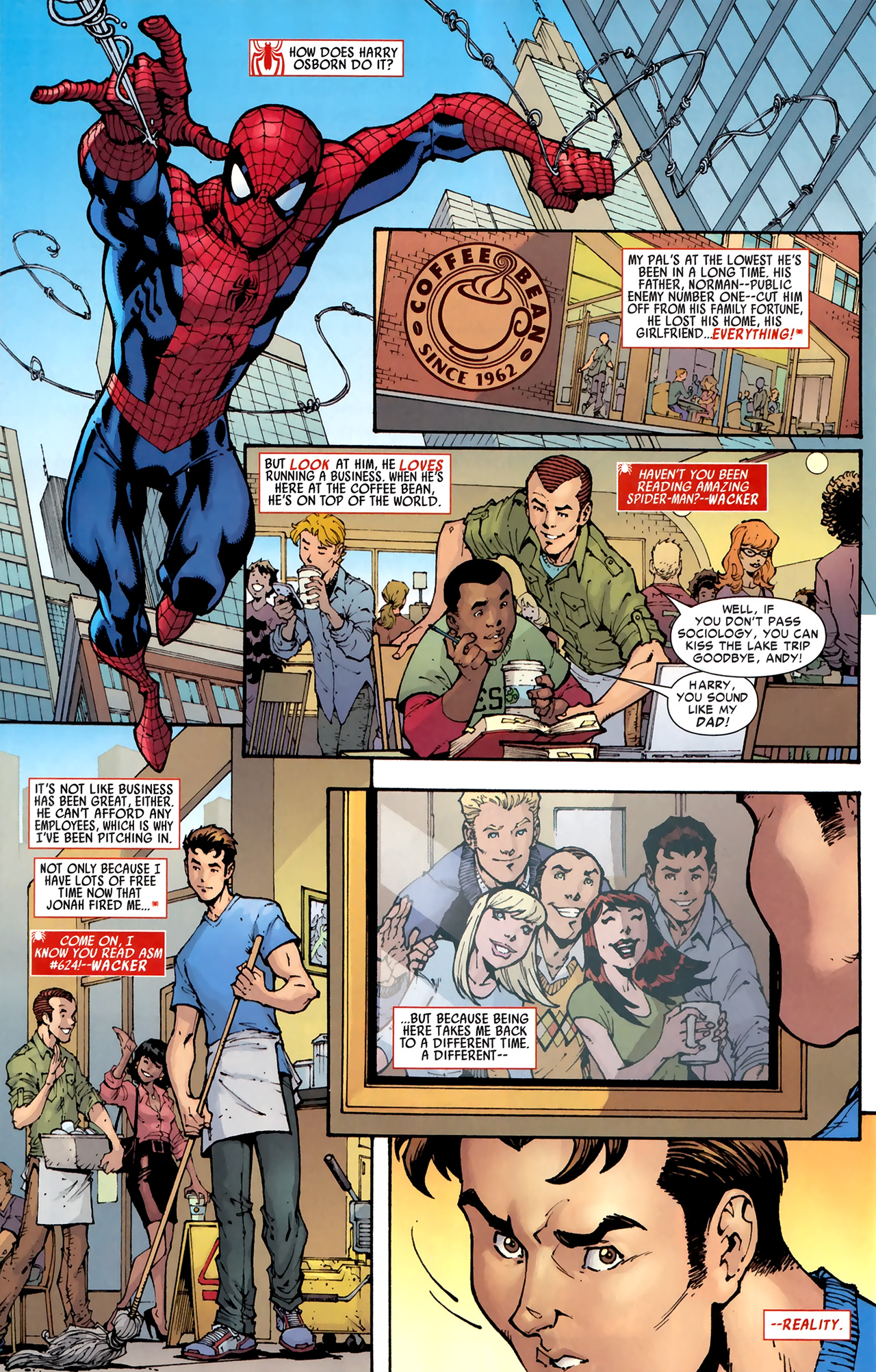 Read online Amazing Spider-Man Presents: American Son comic -  Issue #1 - 26