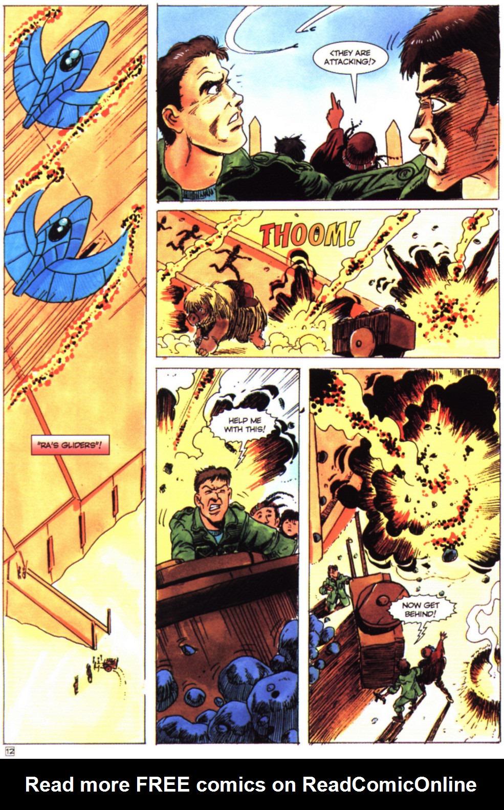 Read online Stargate comic -  Issue #4 - 14