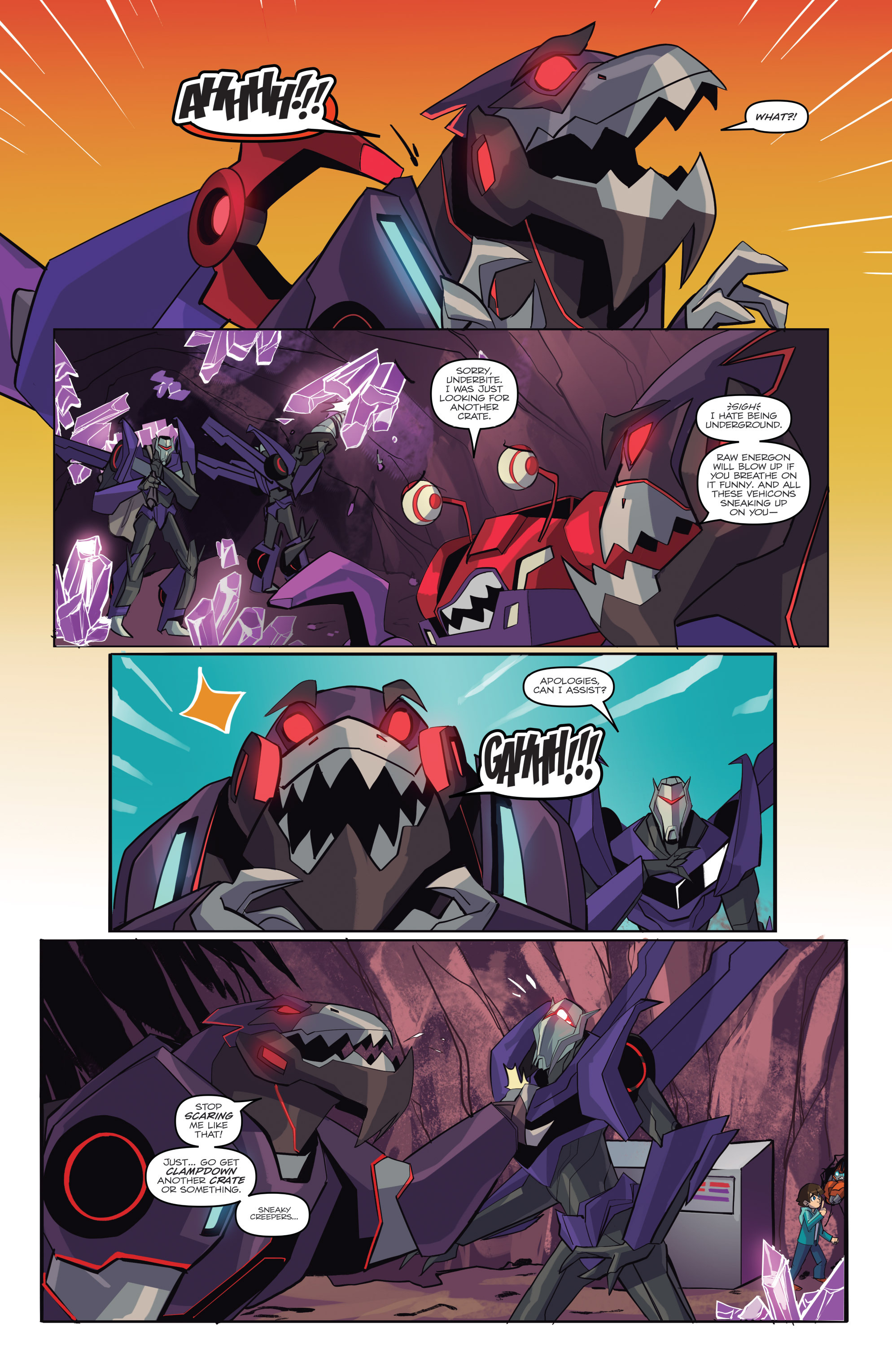 Read online Transformers: Robots In Disguise (2015) comic -  Issue #6 - 12