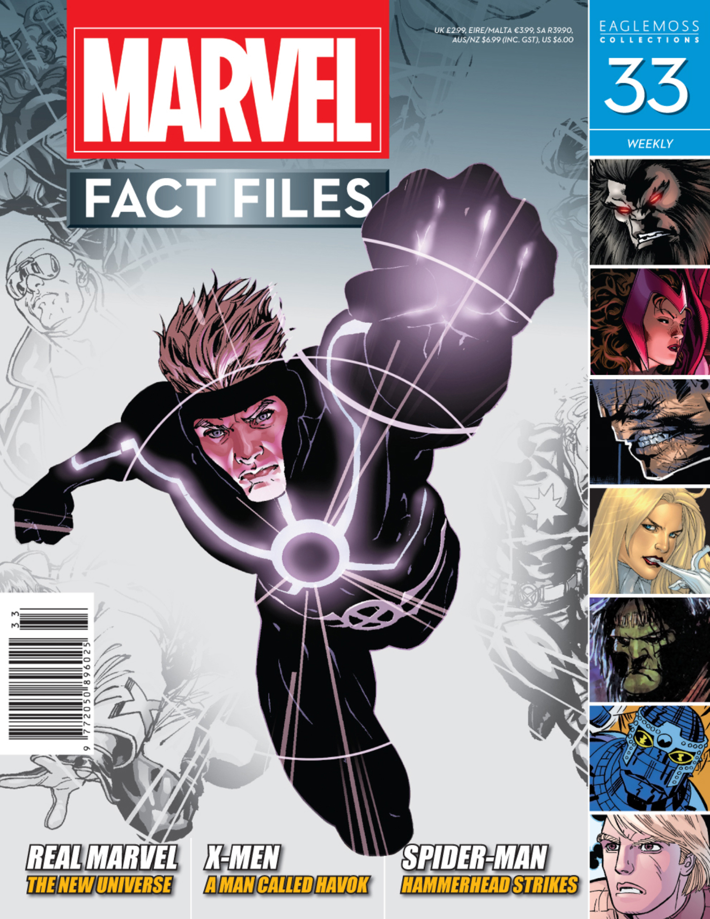 Marvel Fact Files 33 Page 1