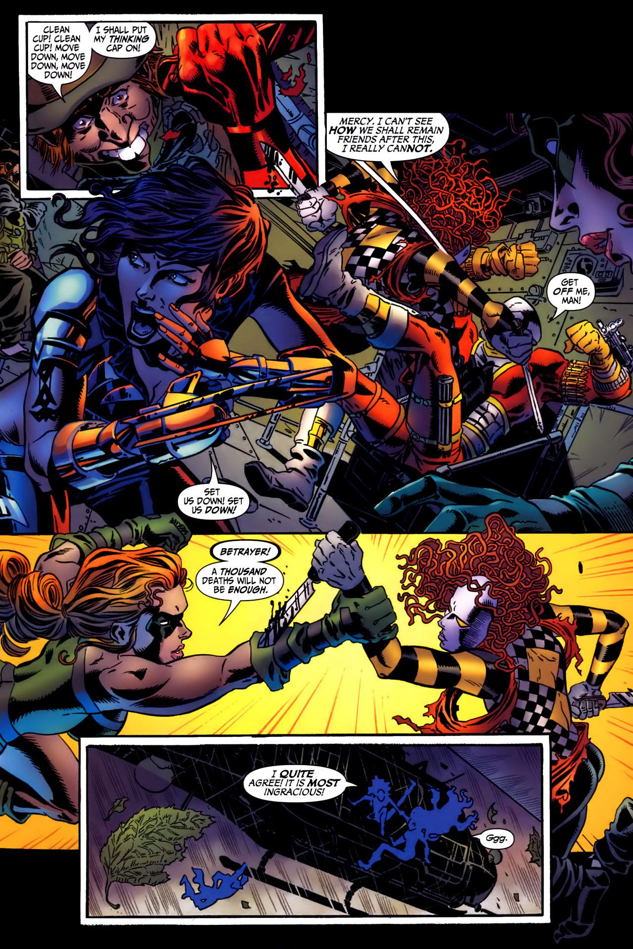 Read online Secret Six (2006) comic -  Issue #3 - 17