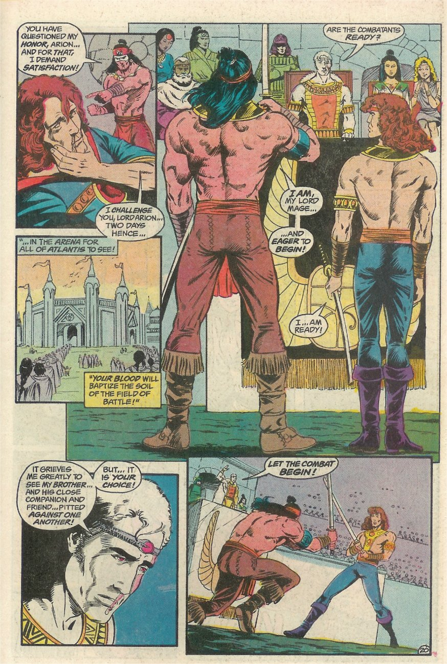 Read online Arion, Lord of Atlantis comic -  Issue #23 - 21
