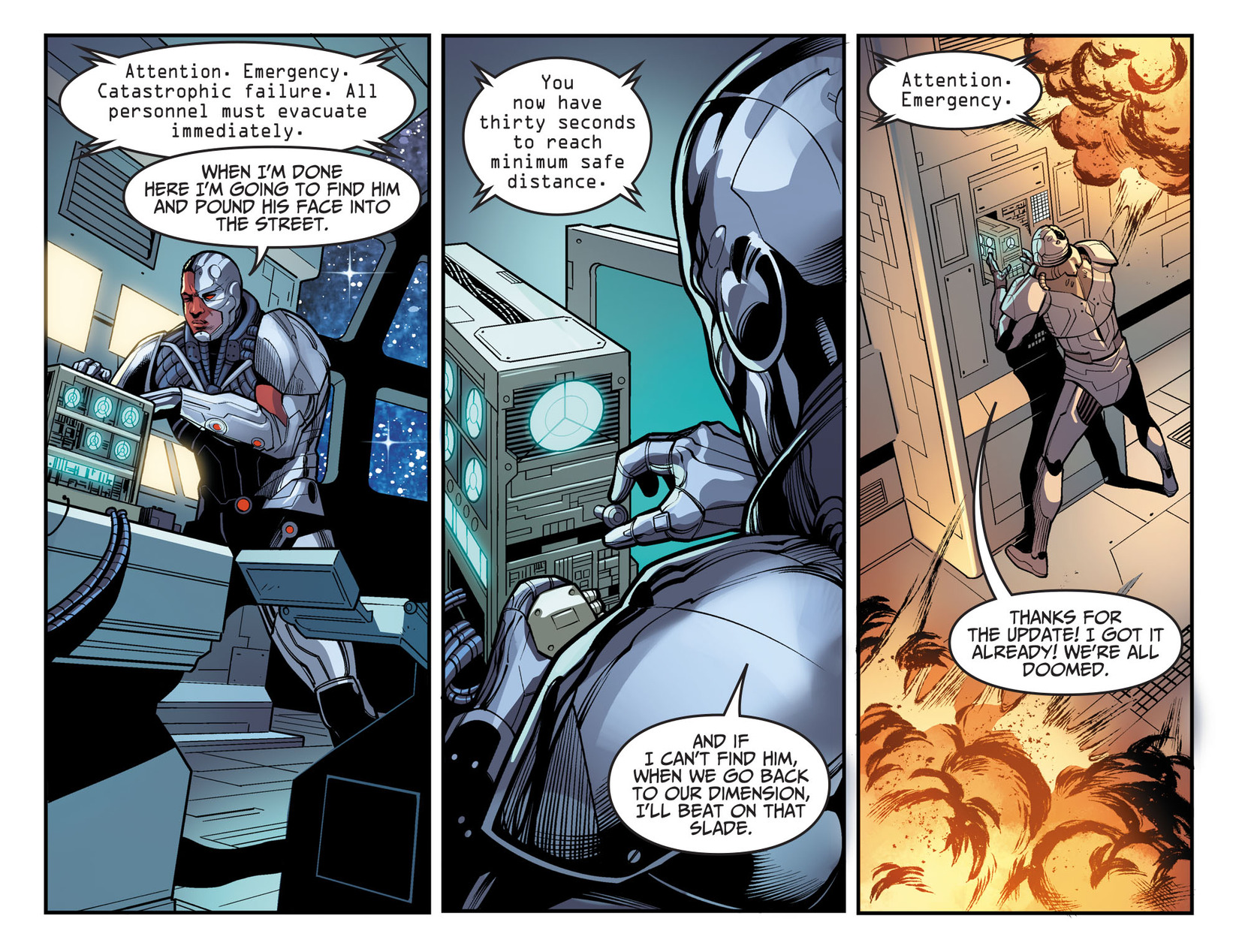 Read online Injustice: Ground Zero comic -  Issue #17 - 10