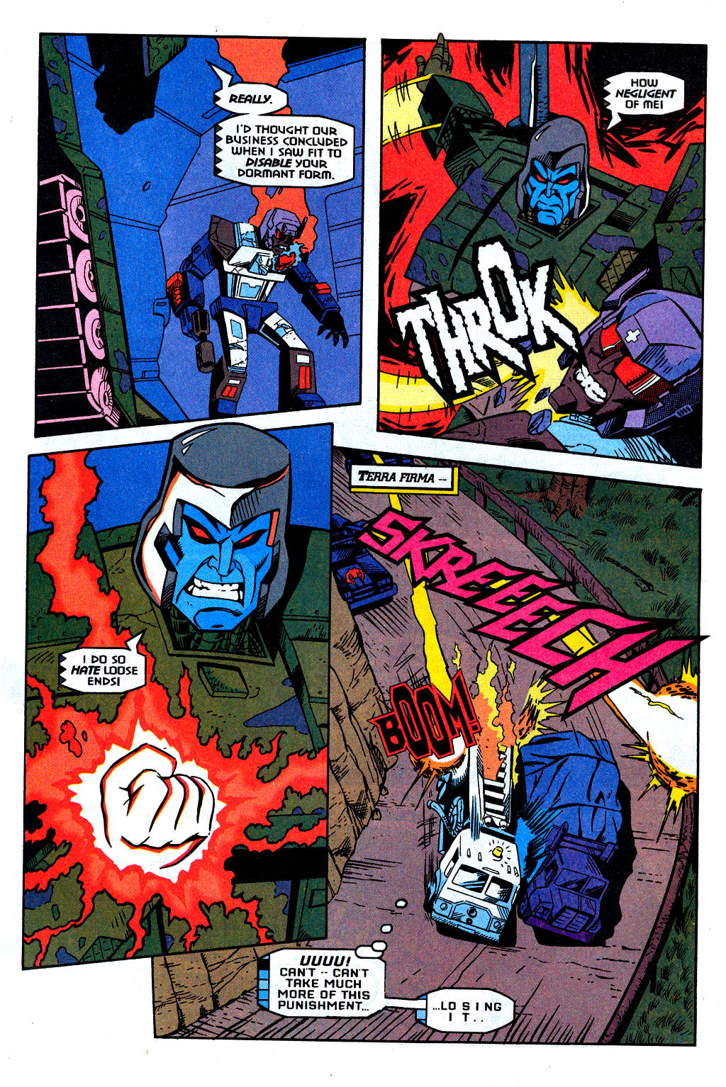 Read online Transformers: Generation 2 comic -  Issue #2 - 11