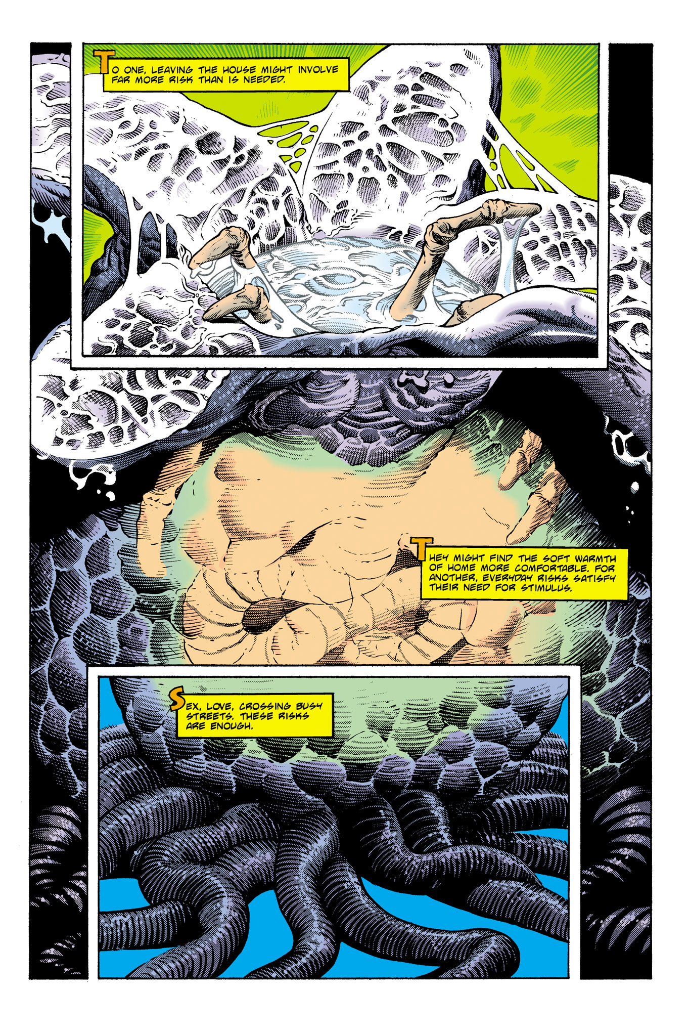 Read online Aliens: Incubation/Lucky/Taste comic -  Issue # Full - 28