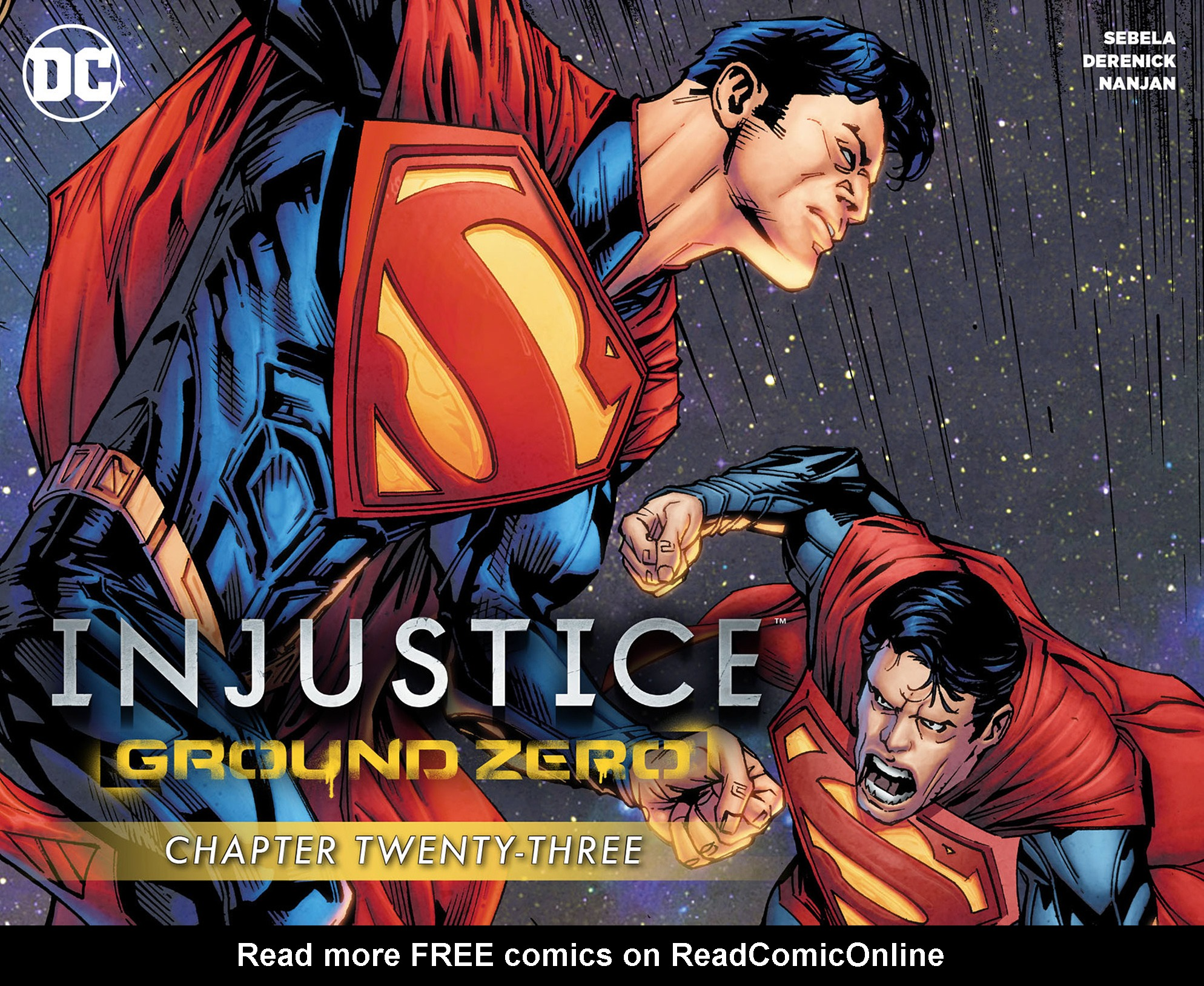Read online Injustice: Ground Zero comic -  Issue #23 - 1