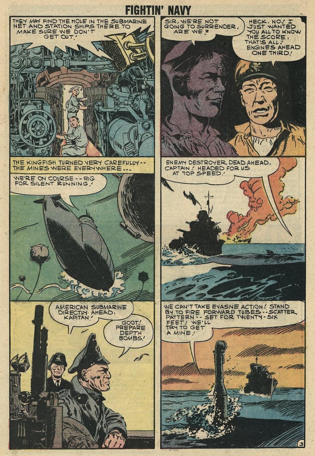 Read online Fightin' Navy comic -  Issue #86 - 5