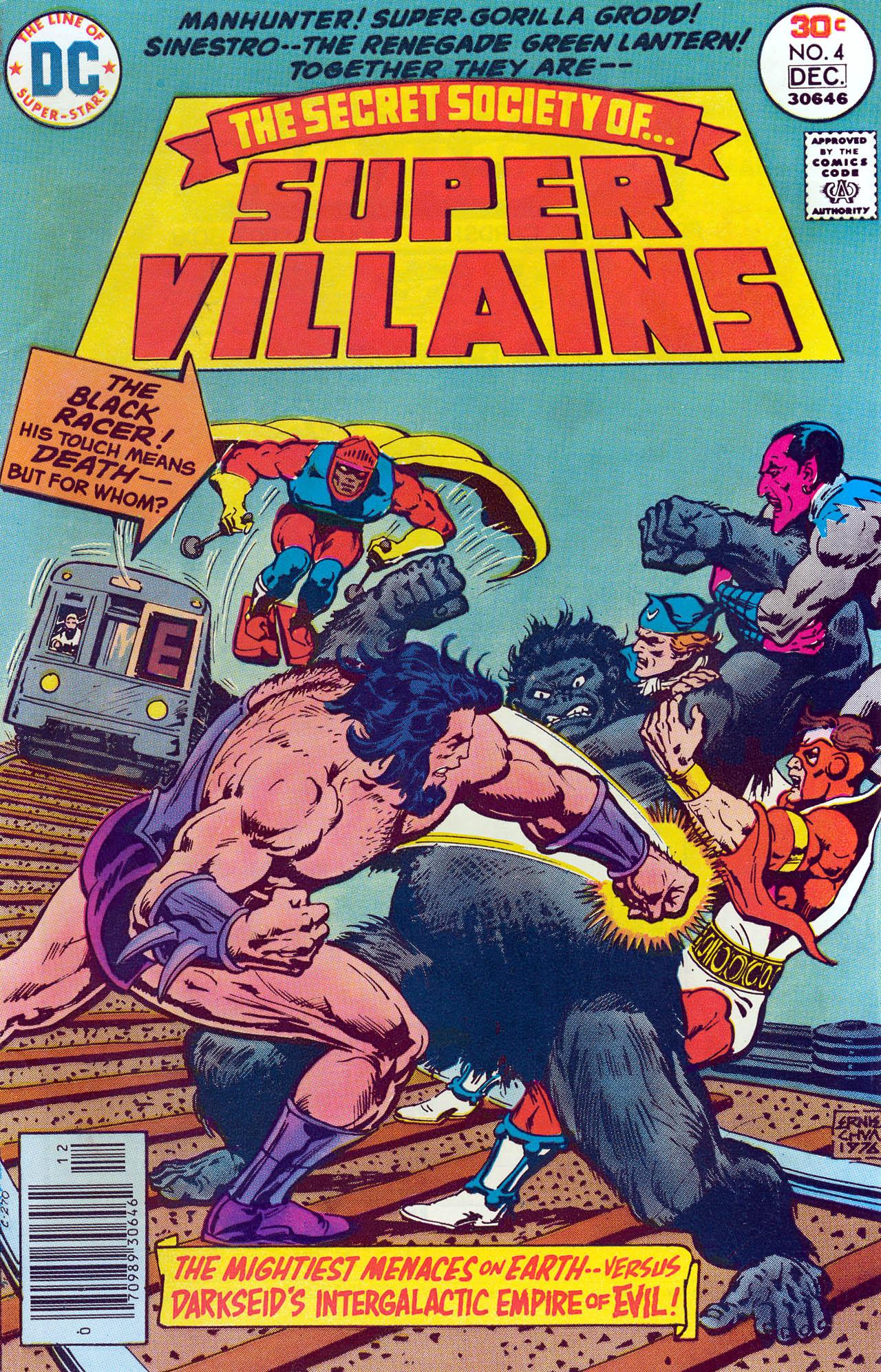 Read online Secret Society of Super-Villains comic -  Issue #4 - 1