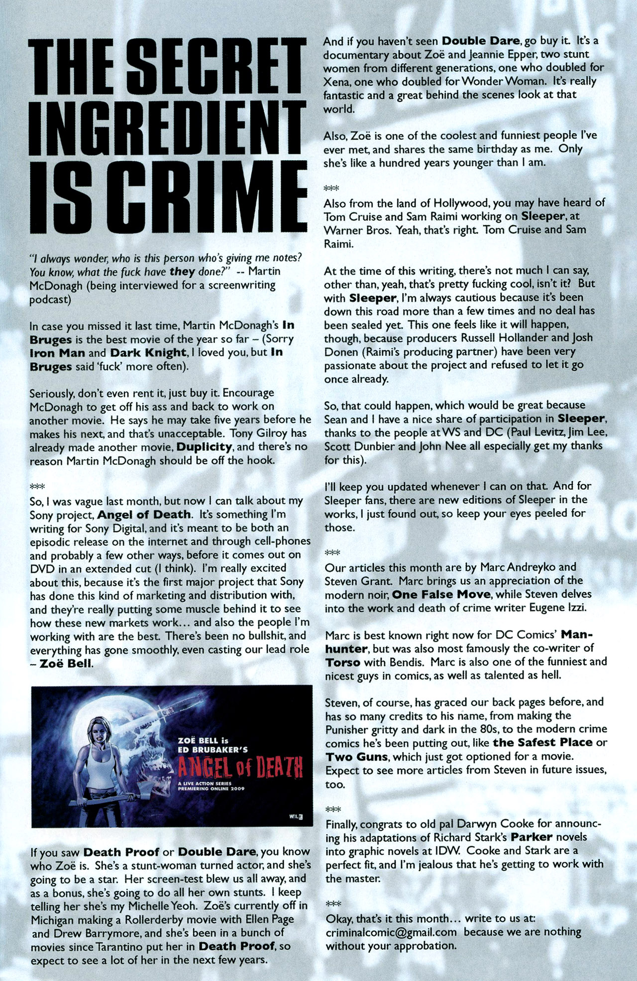 Read online Criminal (2008) comic -  Issue #5 - 29