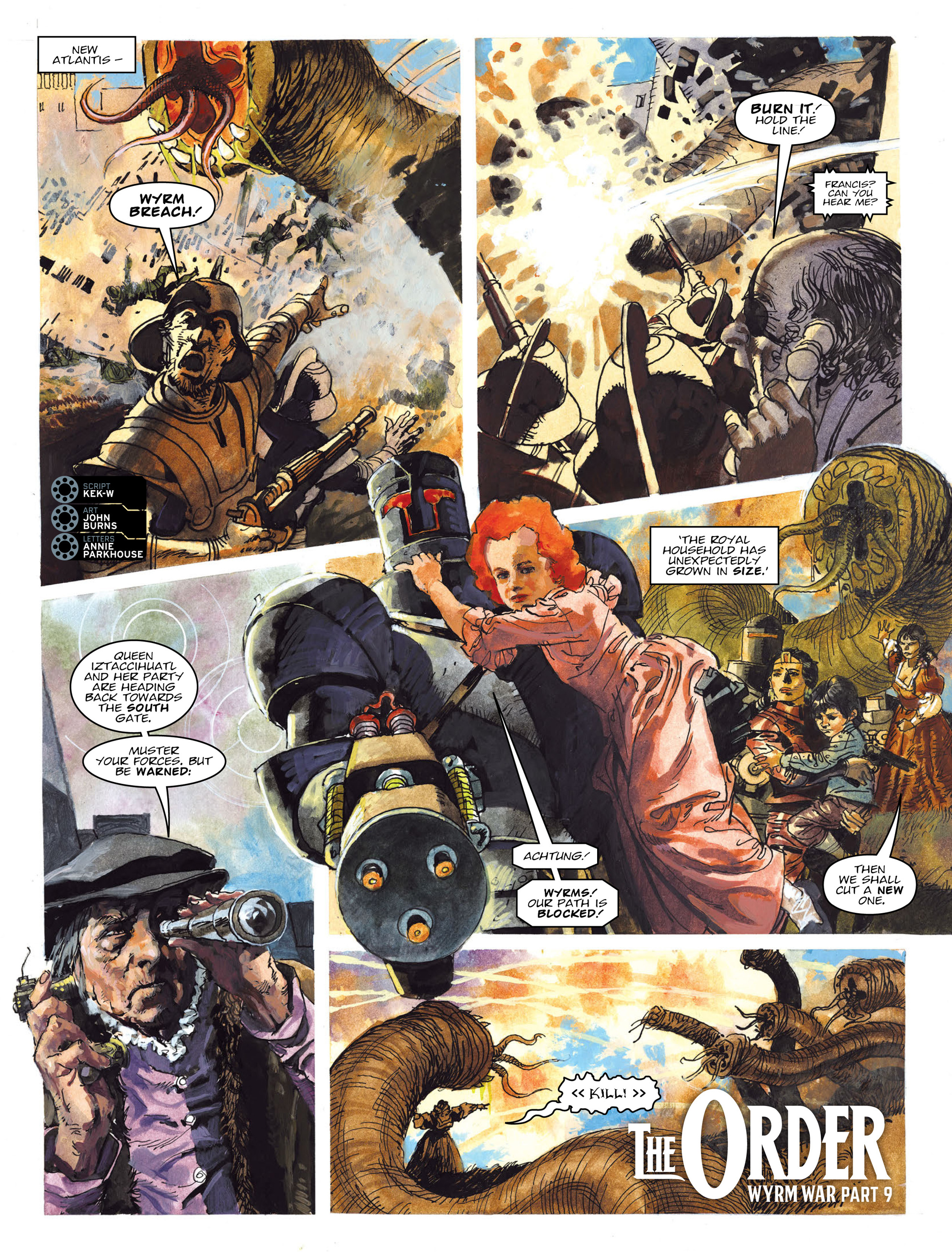 Read online 2000 AD comic -  Issue #2019 - 21