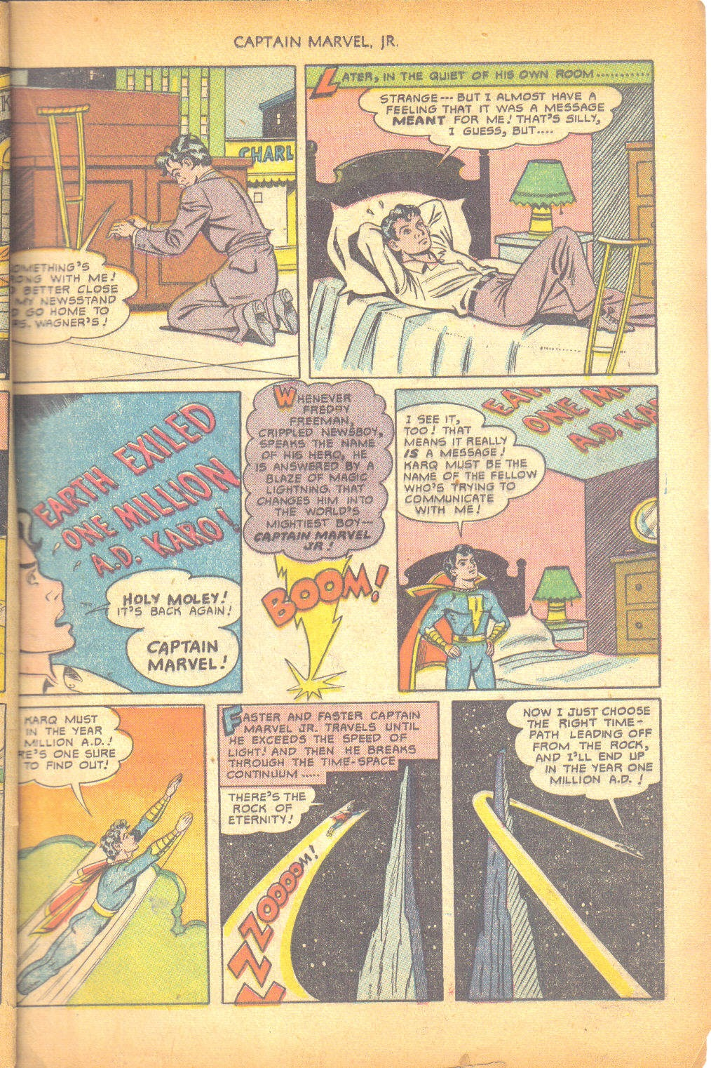 Captain Marvel, Jr. issue 95 - Page 36