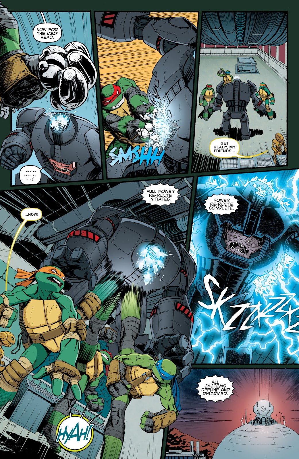 Read online Teenage Mutant Ninja Turtles: The IDW Collection comic -  Issue # TPB 5 (Part 4) - 49