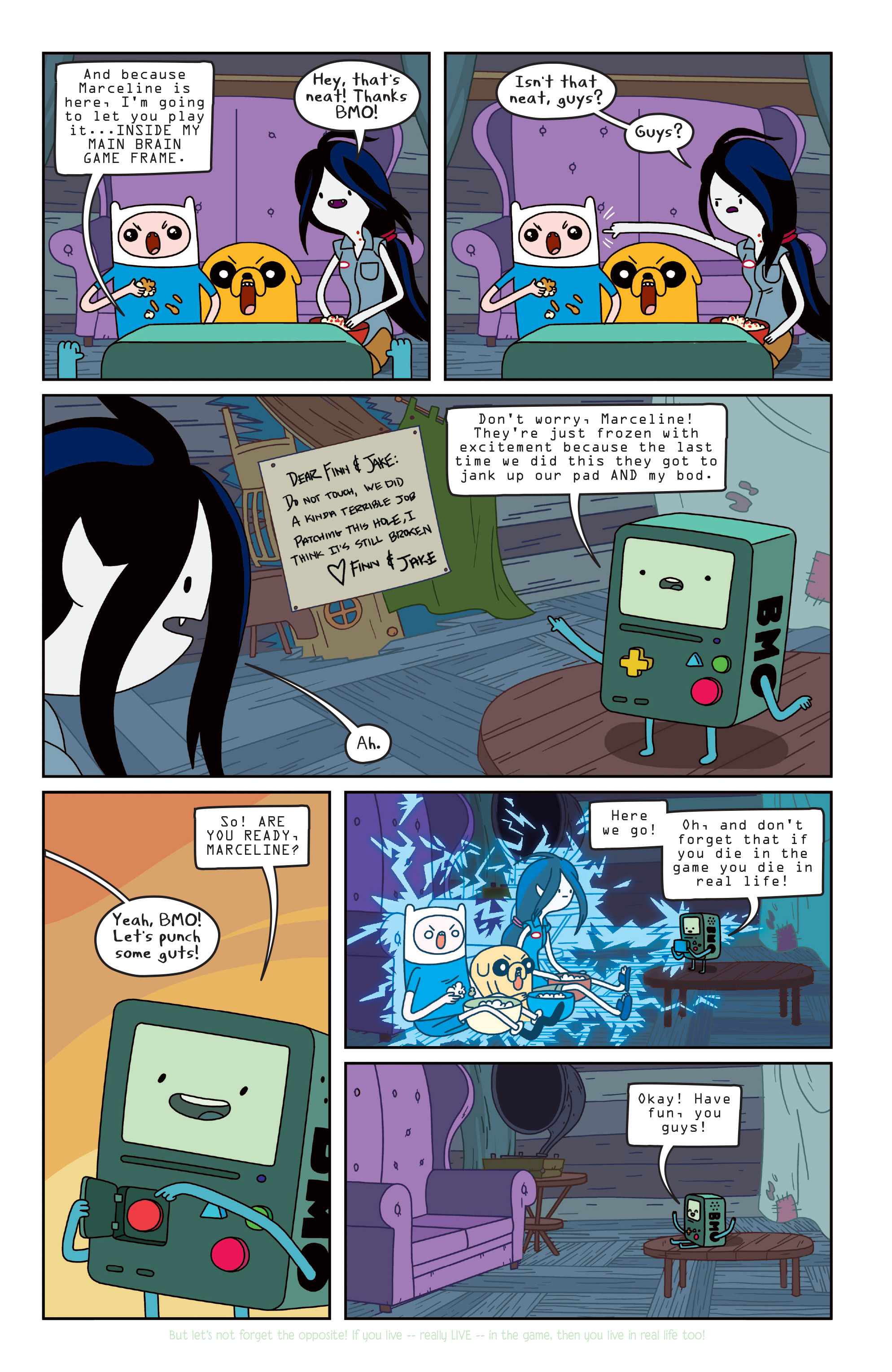 Read online Adventure Time comic -  Issue #Adventure Time _TPB 3 - 19