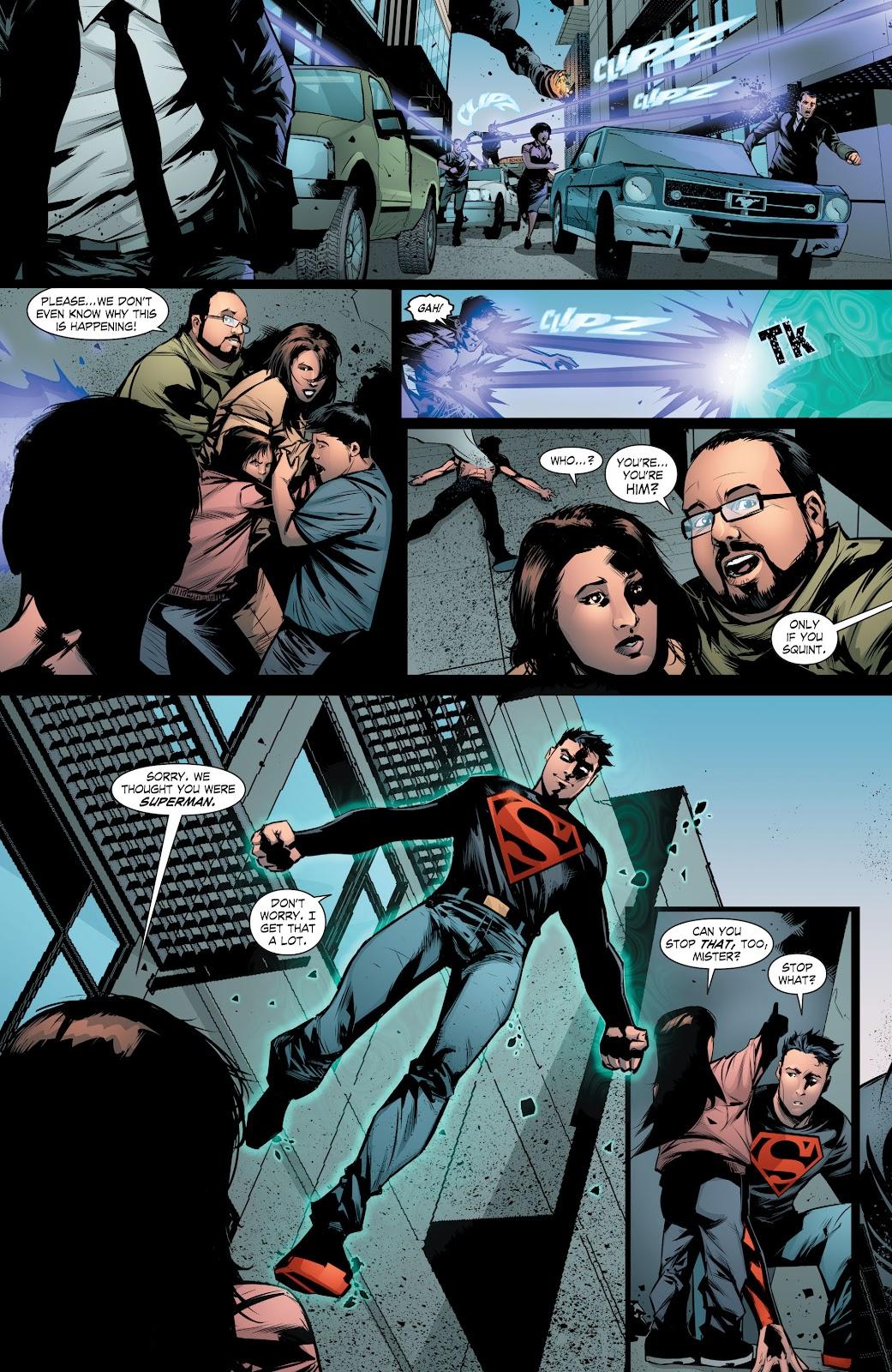 Read online Smallville Season 11 [II] comic -  Issue # TPB 8 - 120