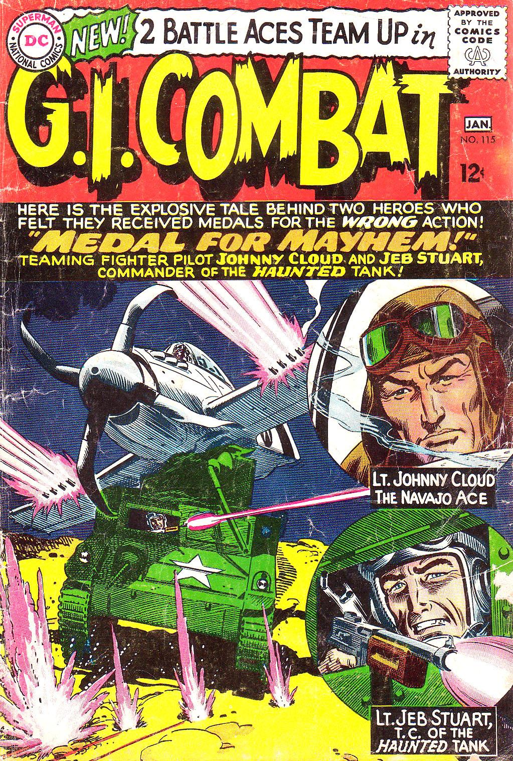 G.I. Combat (1952) 115 Page 1