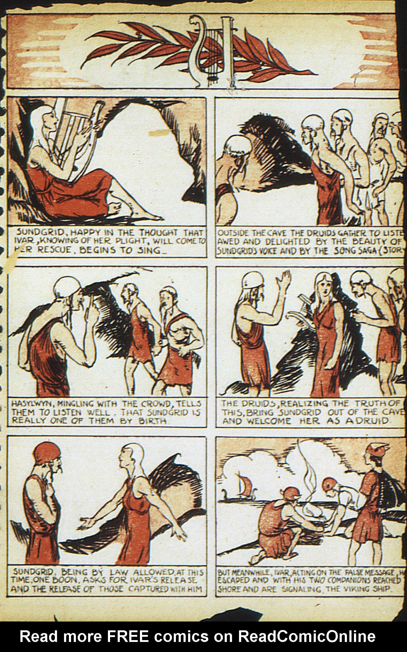 Read online Adventure Comics (1938) comic -  Issue #13 - 31