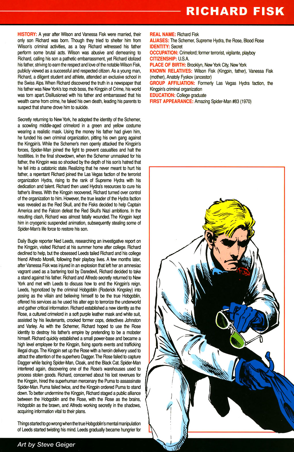 Read online All-New Official Handbook of the Marvel Universe A to Z comic -  Issue #4 - 33