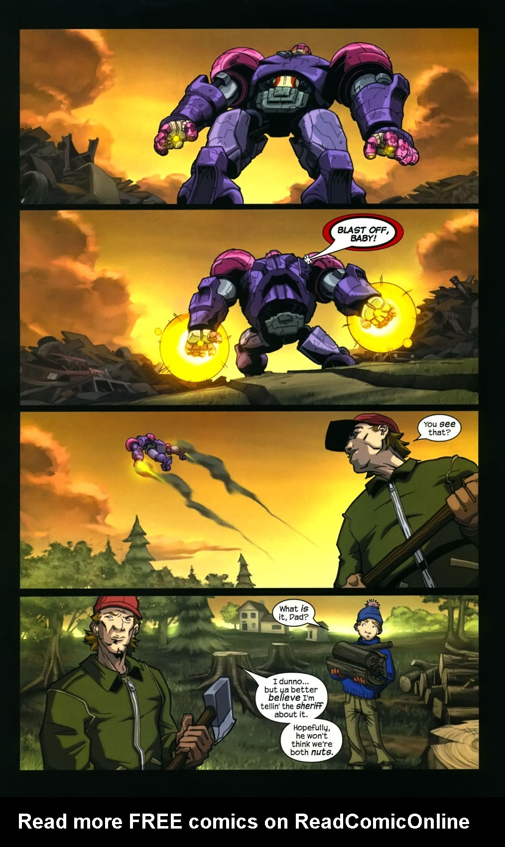 Read online Sentinel (2006) comic -  Issue #4 - 14