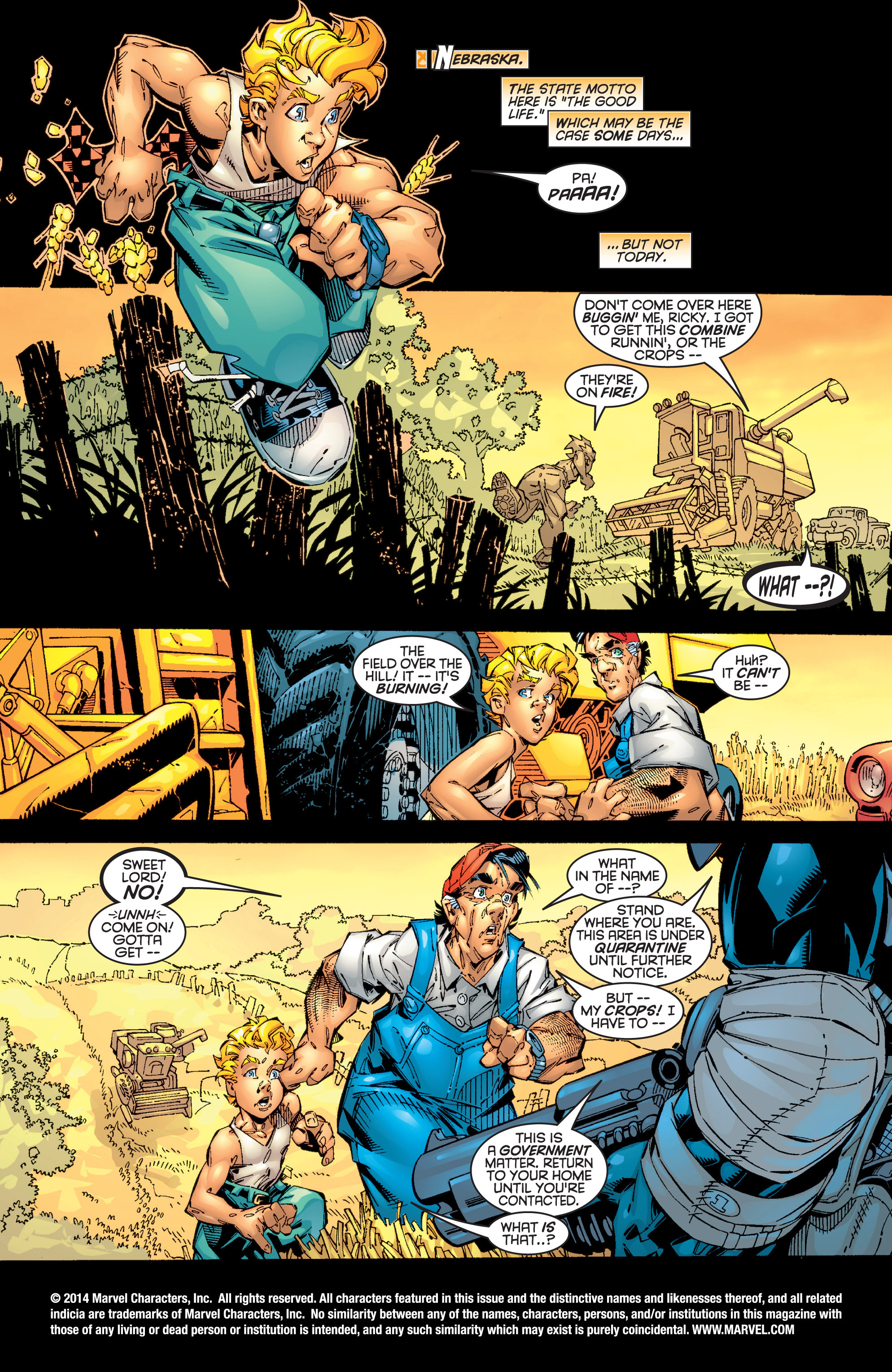 Read online Uncanny X-Men (1963) comic -  Issue #362 - 2