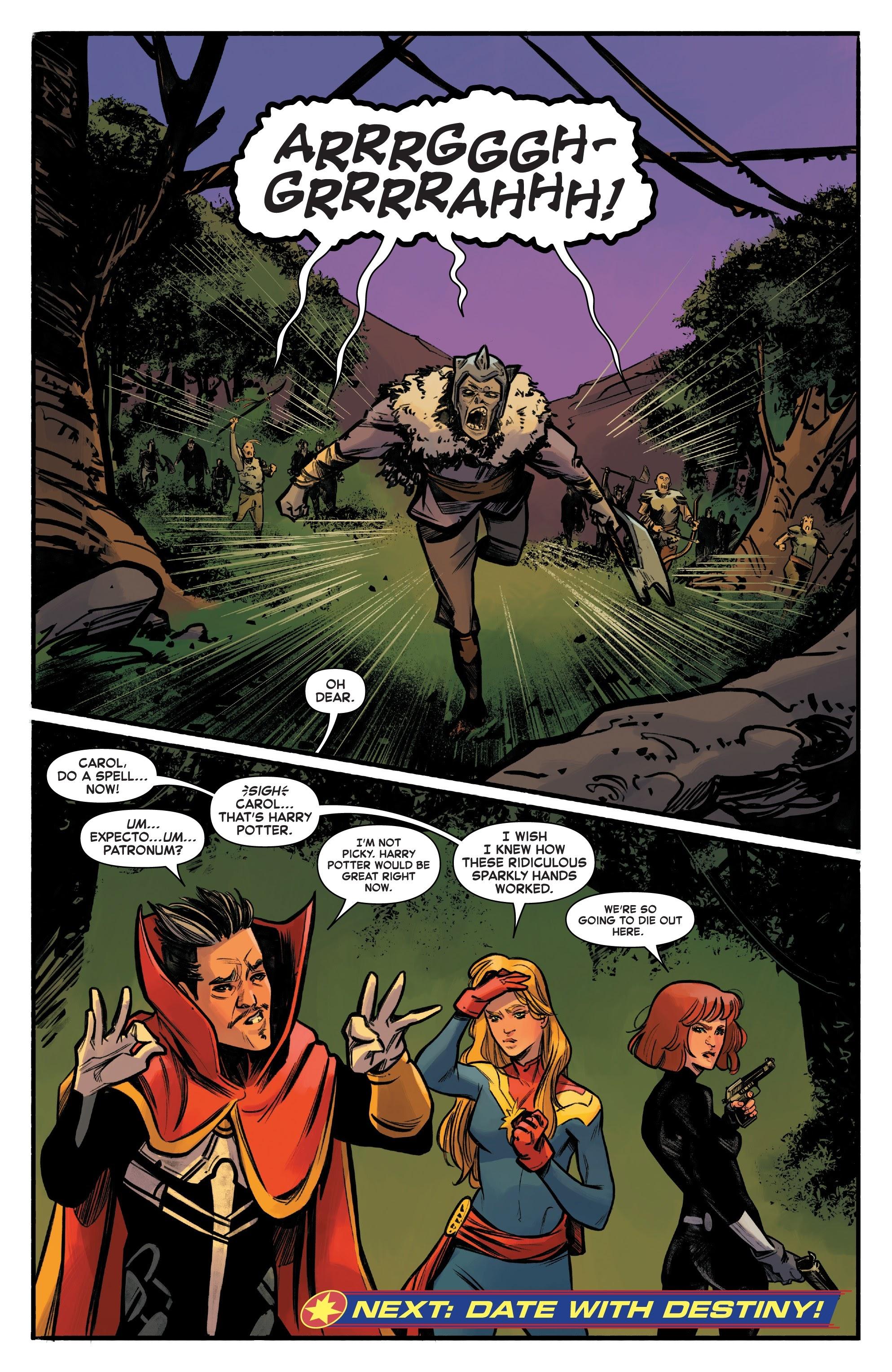 Read online Captain Marvel (2019) comic -  Issue #6 - 22