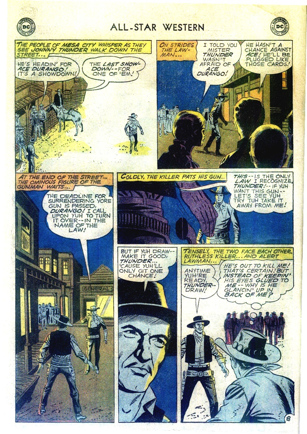Read online All-Star Western (1951) comic -  Issue #111 - 10