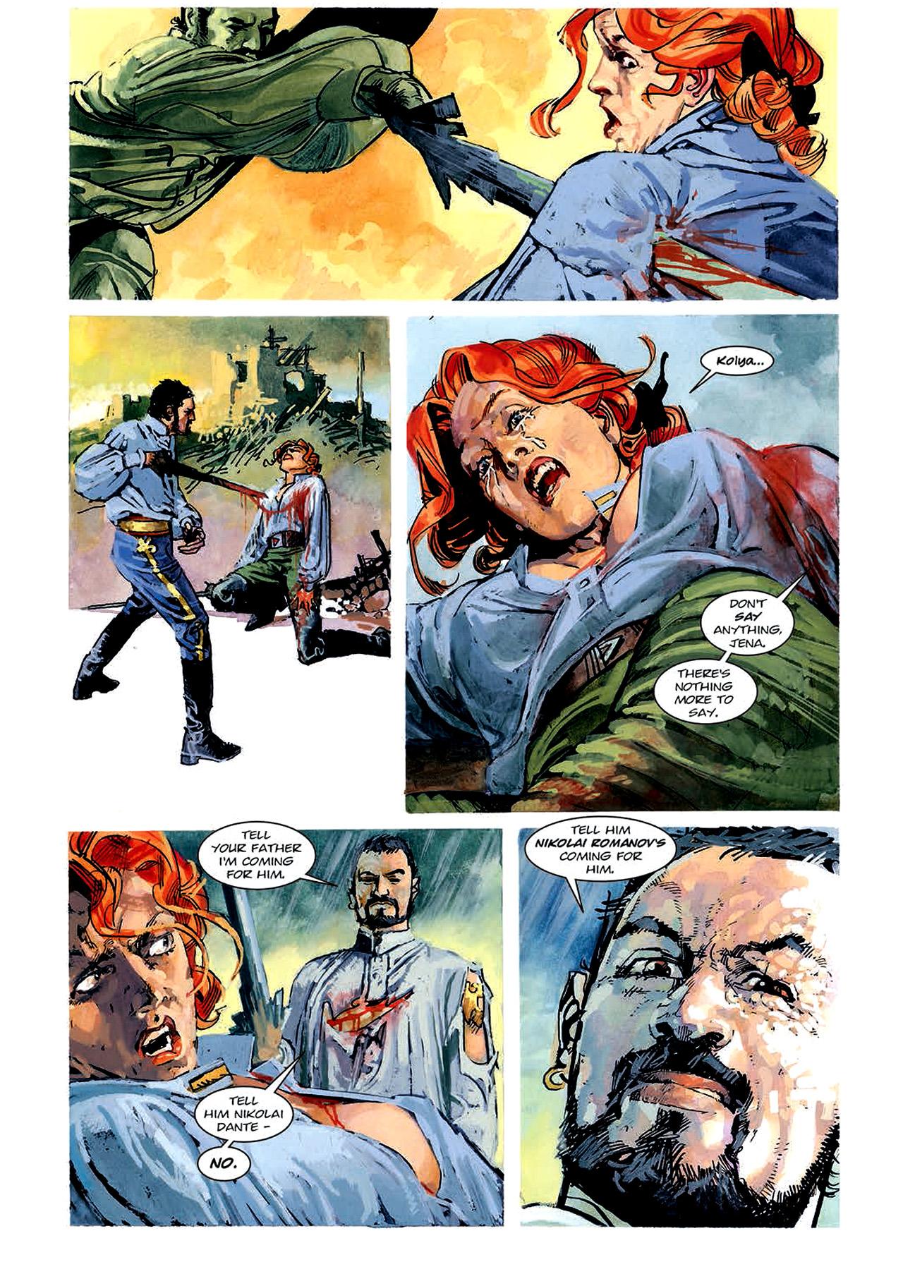Read online Nikolai Dante comic -  Issue # TPB 4 - 99