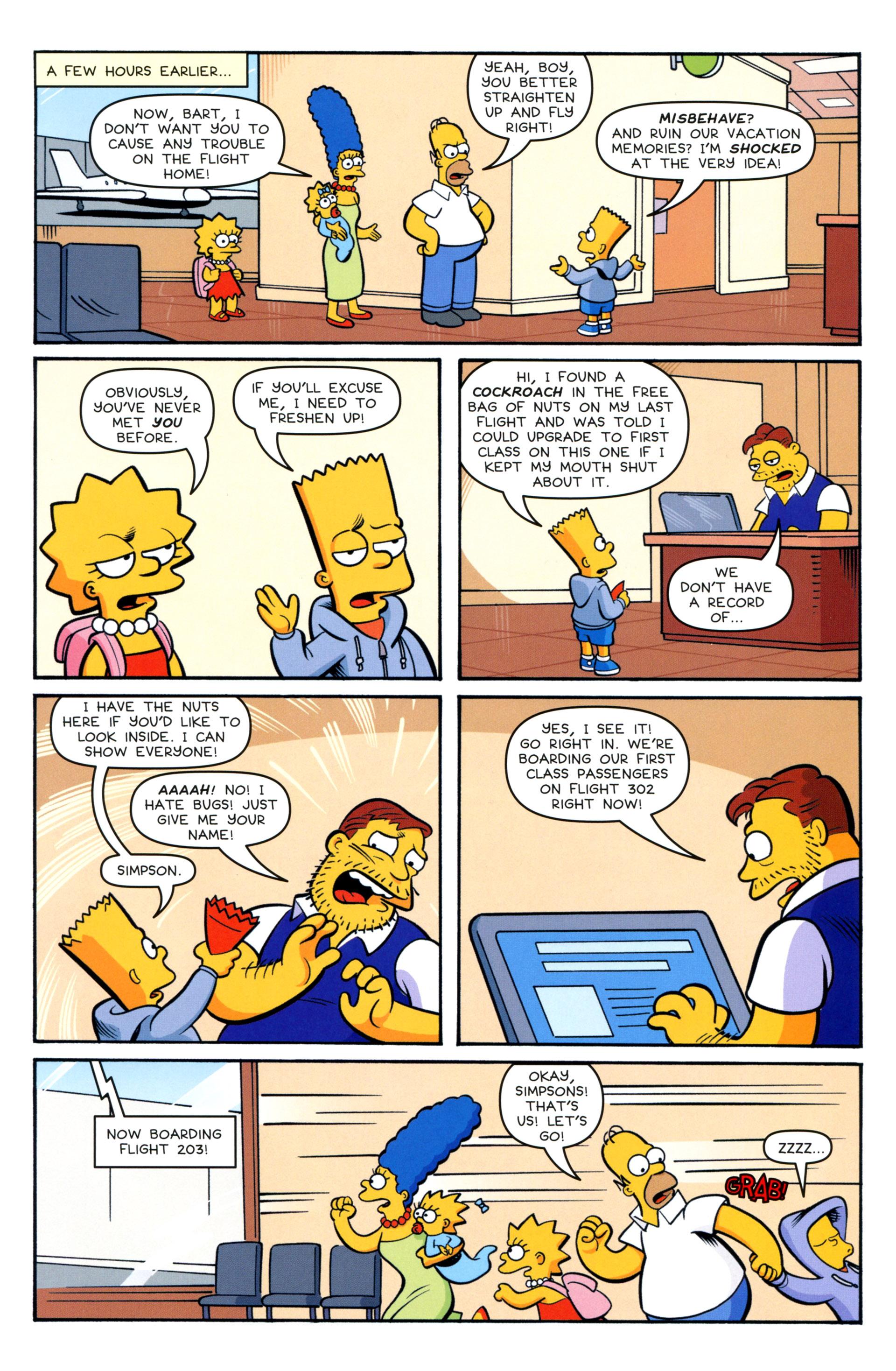 Read online Simpsons Comics comic -  Issue #208 - 5