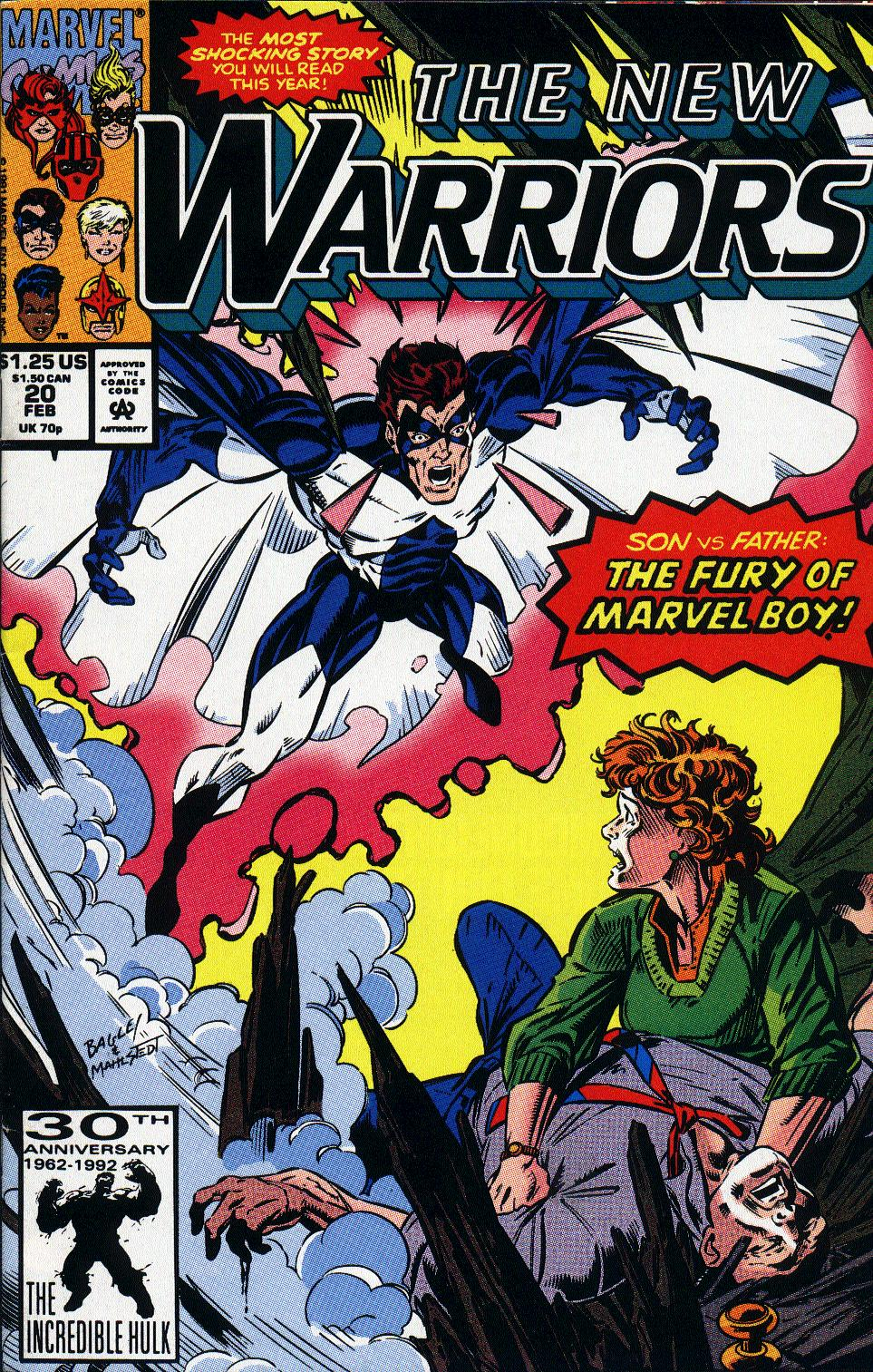 The New Warriors Issue #20 #24 - English 1