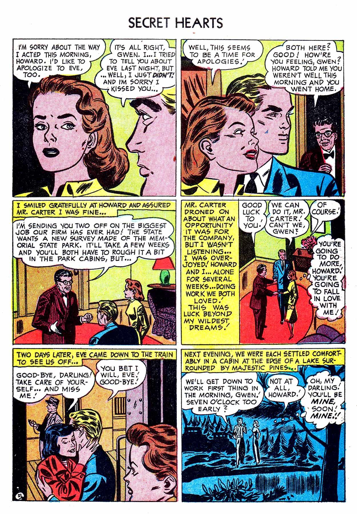 Read online Secret Hearts comic -  Issue #8 - 31