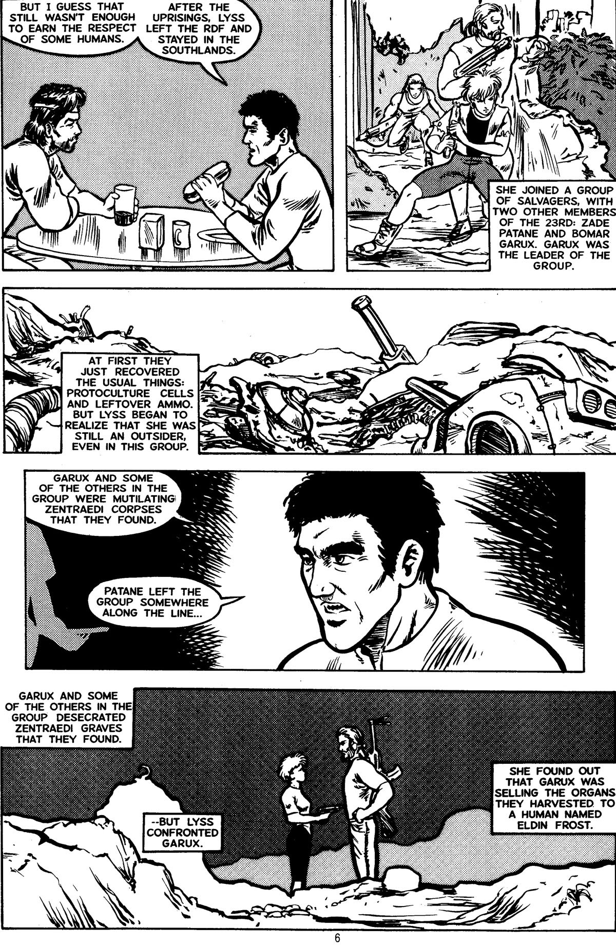 Robotech MechAngel issue 3 - Page 8