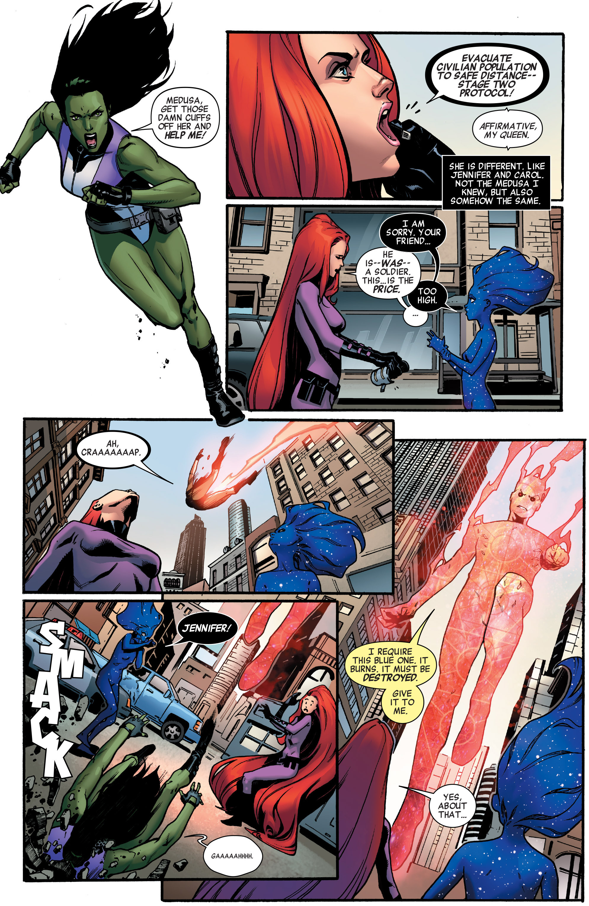 Read online A-Force (2016) comic -  Issue #2 - 5