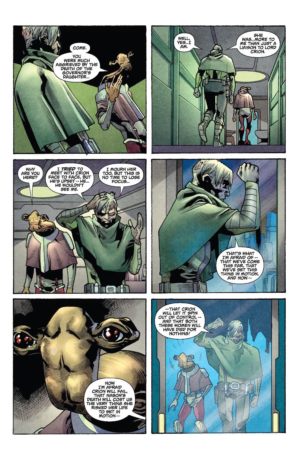 Read online Star Wars Legends: Rise of the Sith - Epic Collection comic -  Issue # TPB 1 (Part 2) - 81