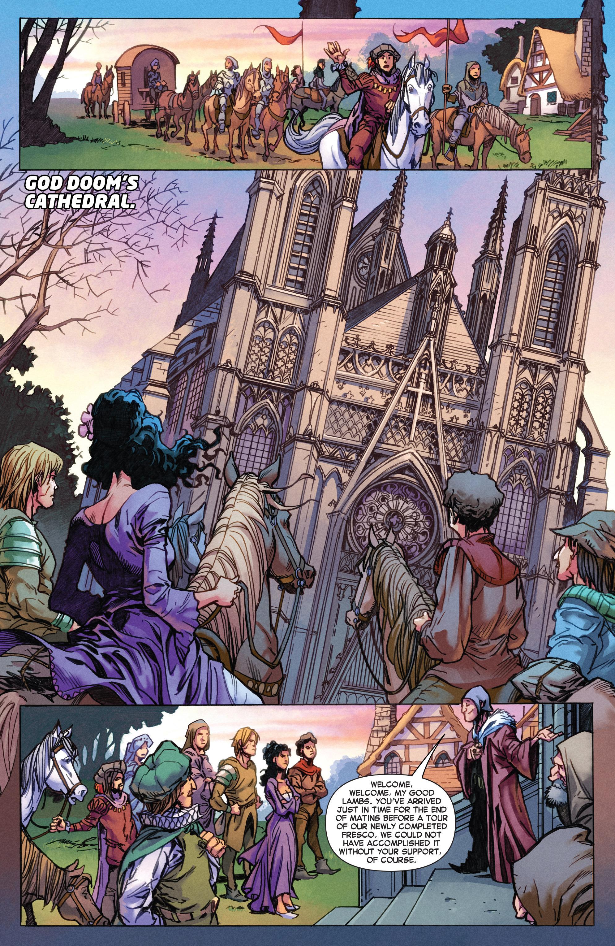 Read online Secret Wars Journal/Battleworld comic -  Issue # TPB - 7