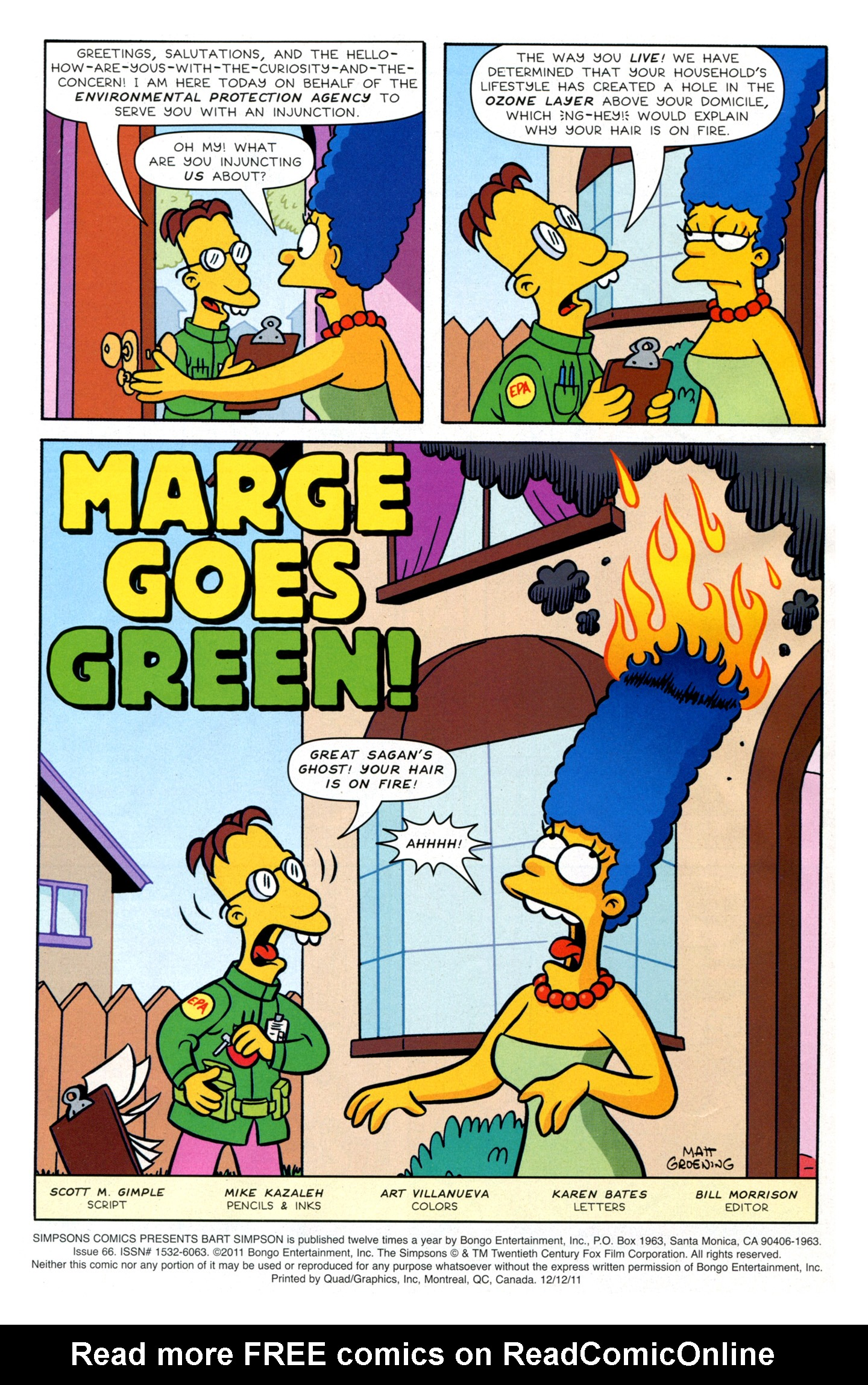 Read online Simpsons Comics Presents Bart Simpson comic -  Issue #66 - 3