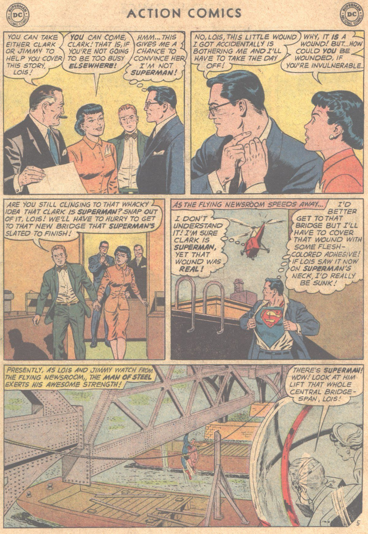 Read online Action Comics (1938) comic -  Issue #290 - 7