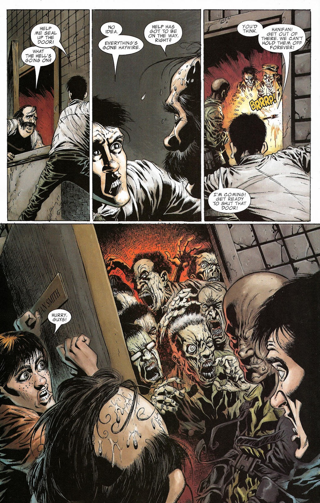 Read online Zombie (2006) comic -  Issue #2 - 10