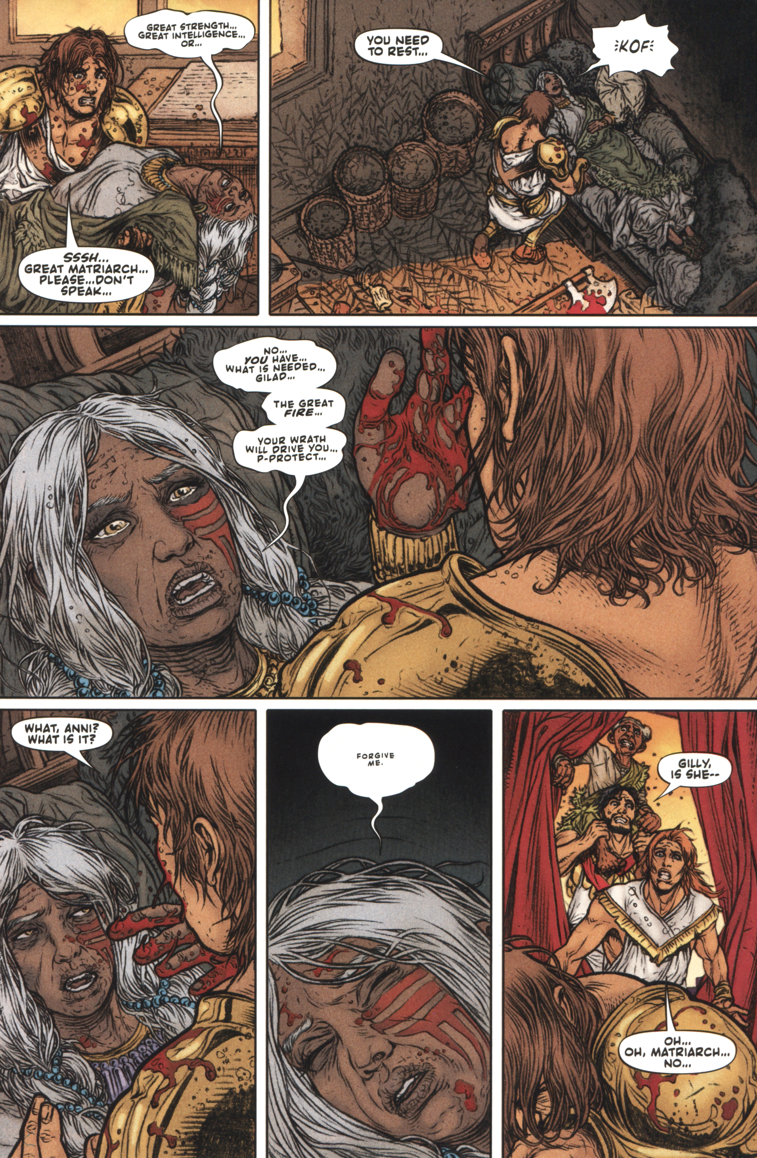 Read online Book of Death: Legends of the Geomancer comic -  Issue #4 - 18
