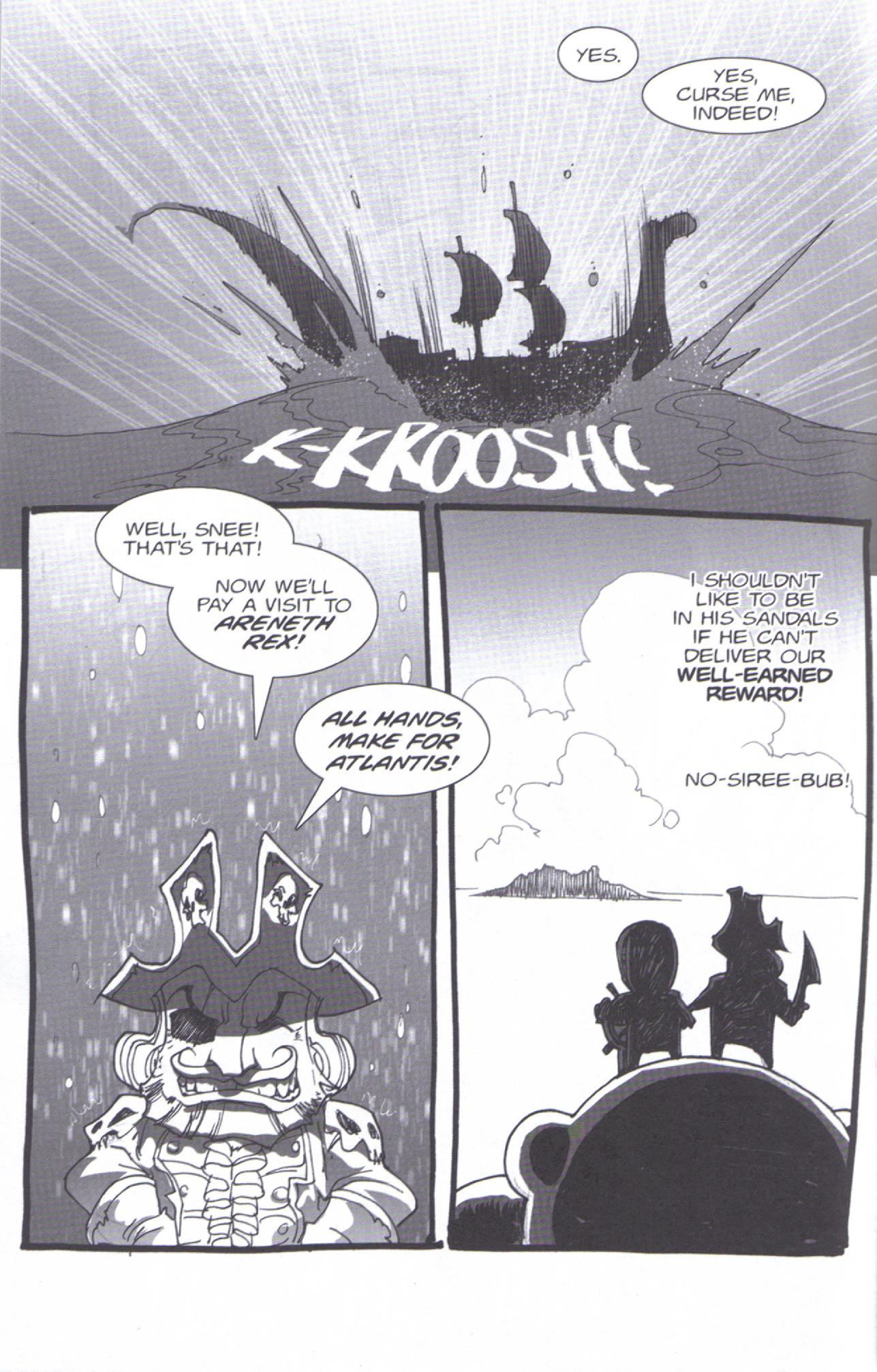 Read online Pirates vs. Ninjas: Global Harming comic -  Issue # Full - 12