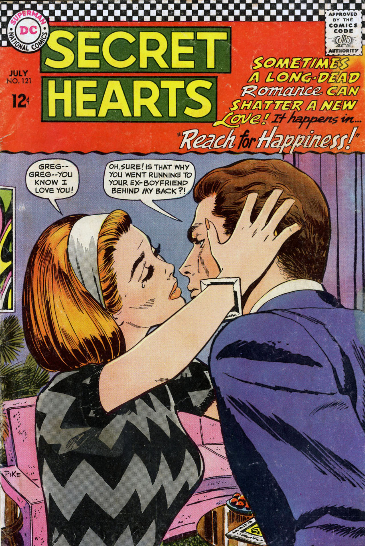 Read online Secret Hearts comic -  Issue #121 - 1