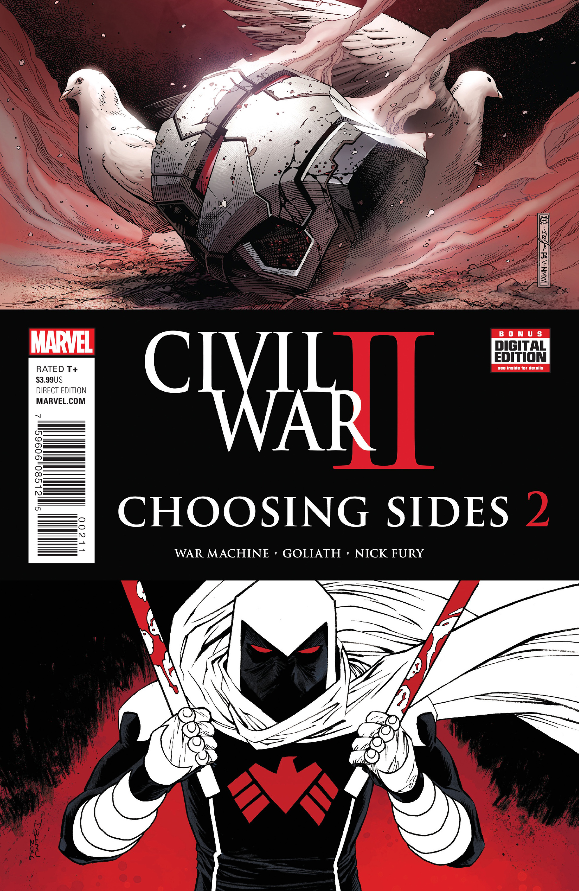 Read online Civil War II: Choosing Sides comic -  Issue #2 - 2