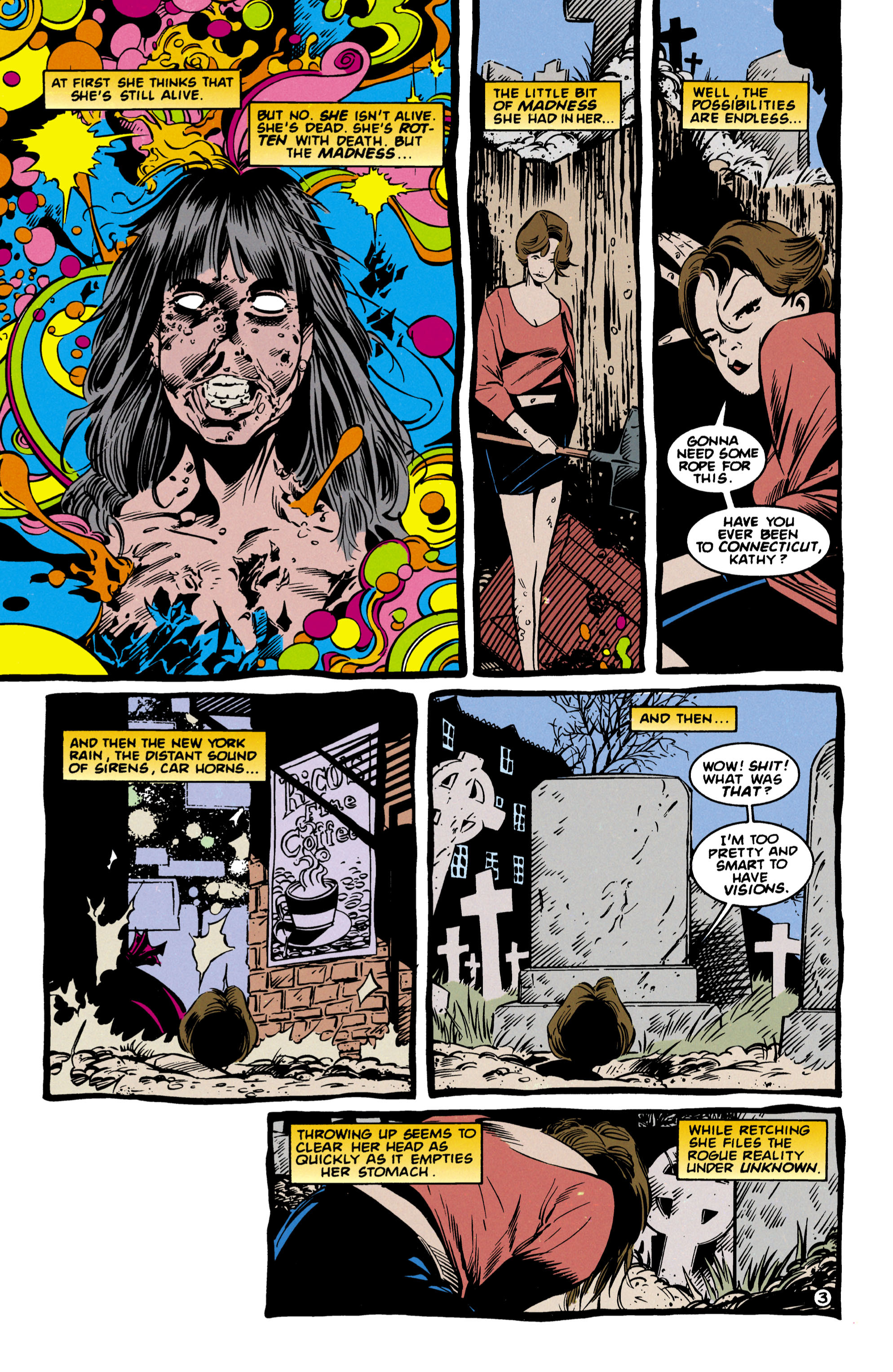 Read online Shade, the Changing Man comic -  Issue #57 - 4