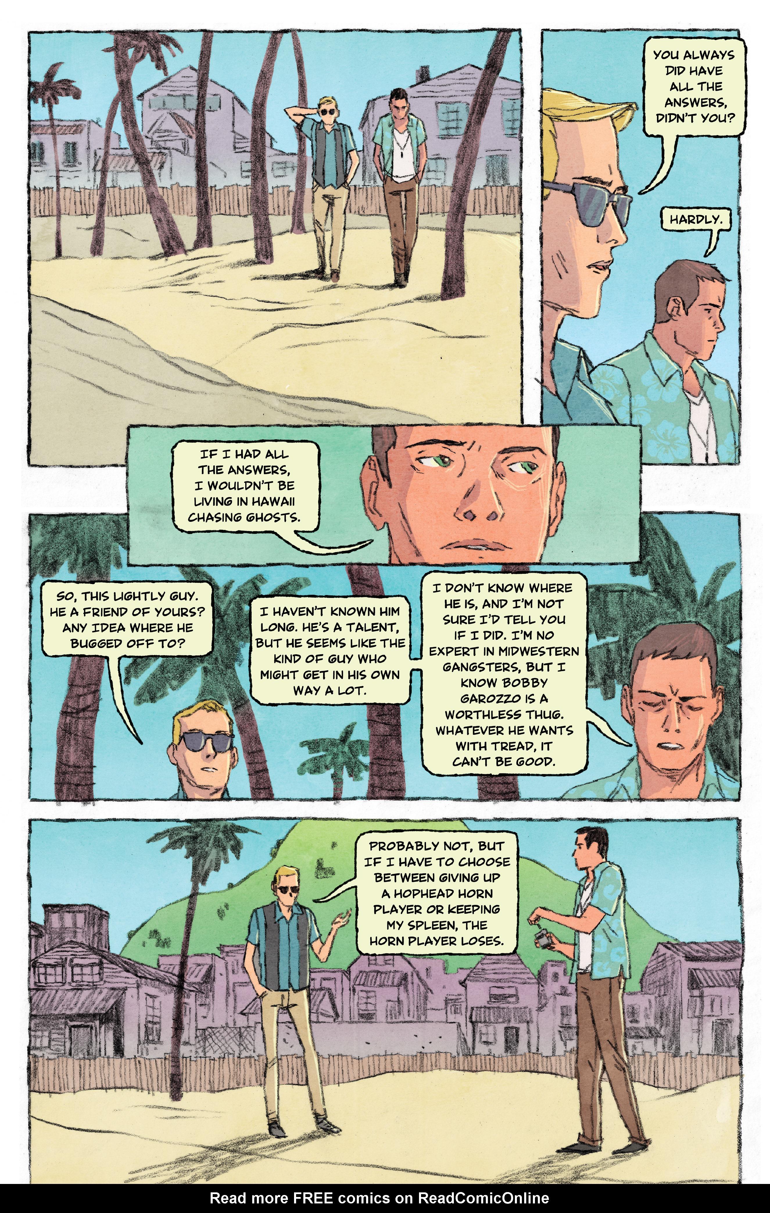 Read online Aloha, Hawaiian Dick comic -  Issue #3 - 11
