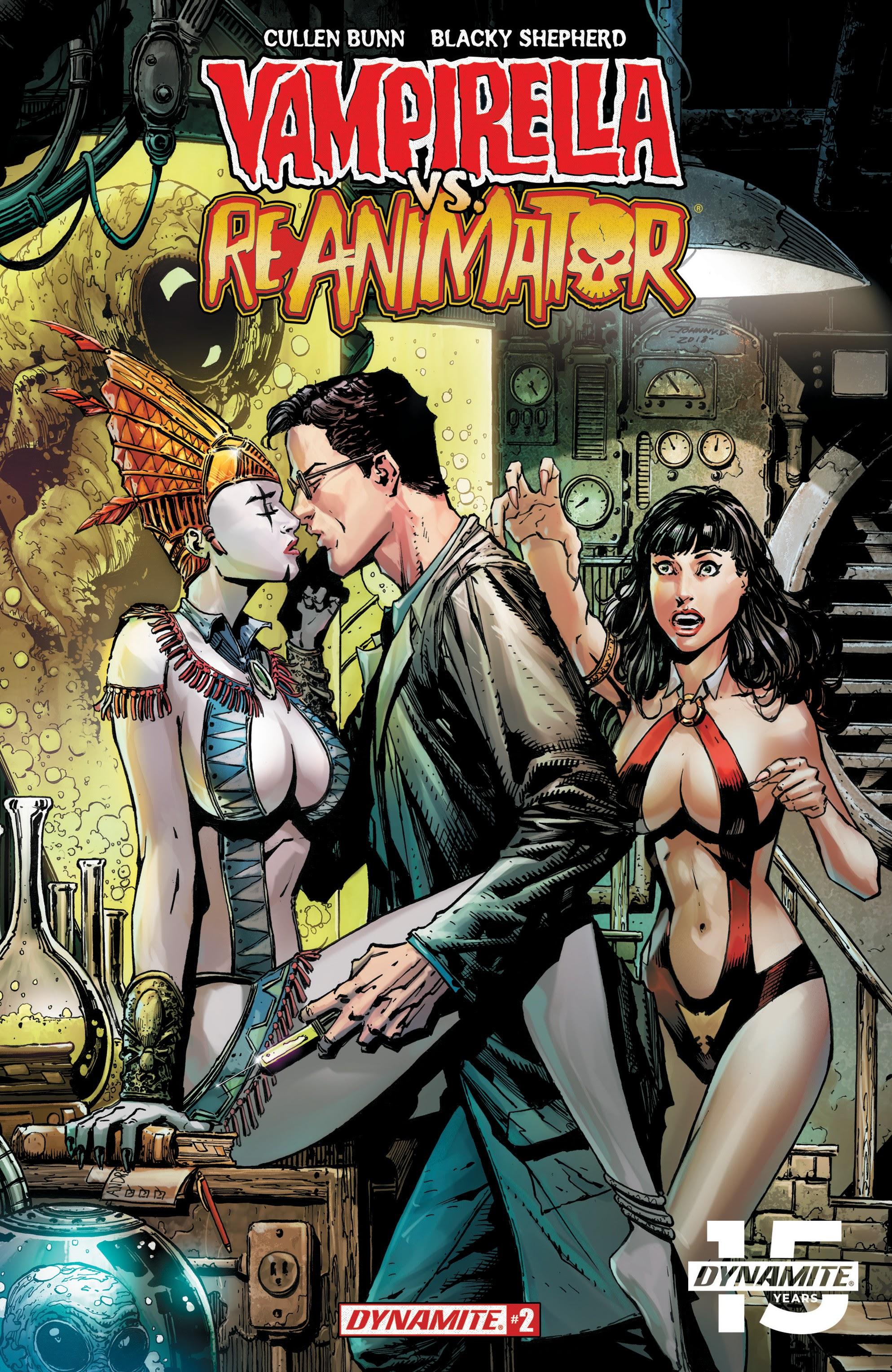 Vampirella vs. Reanimator 2 Page 1