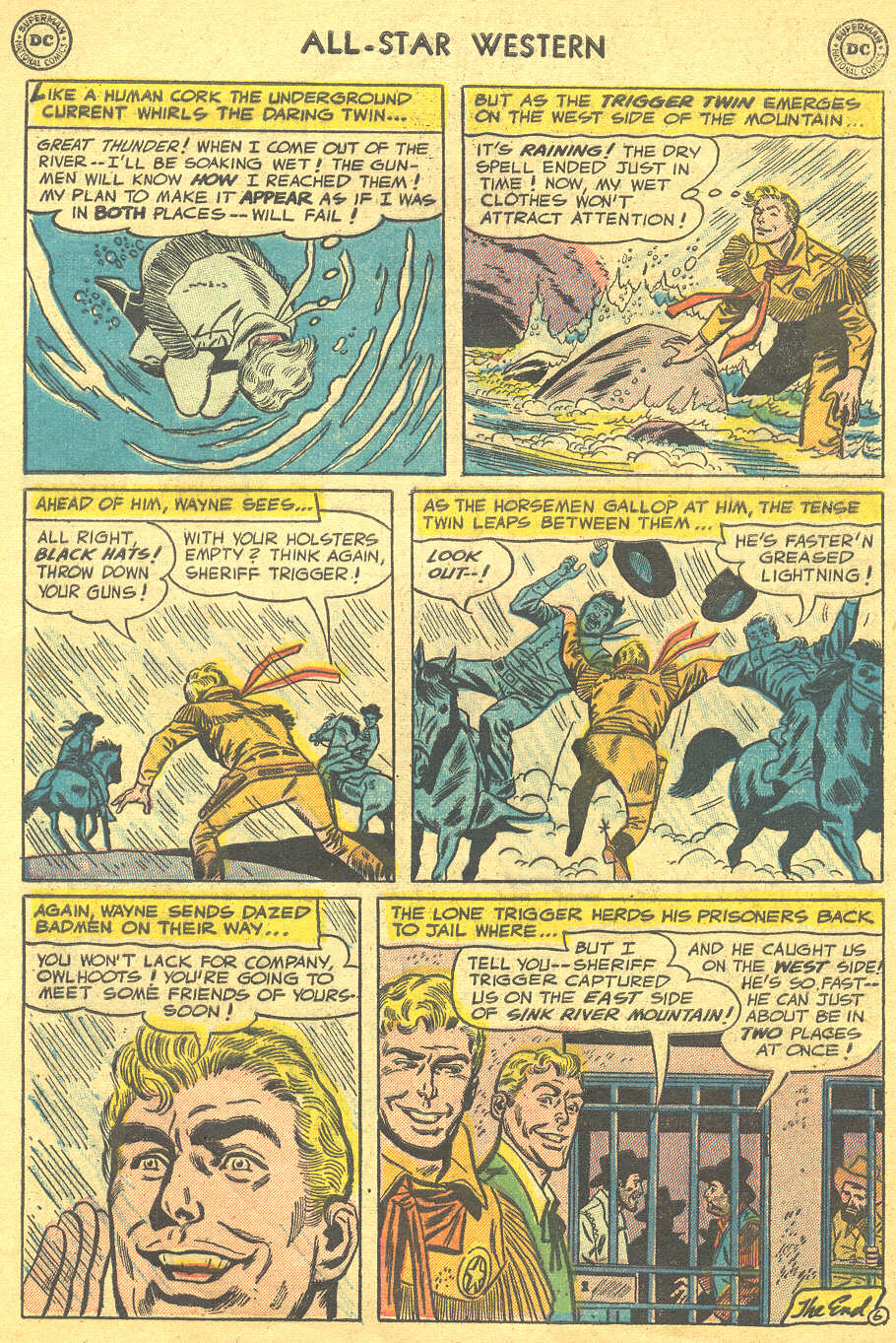 Read online All-Star Western (1951) comic -  Issue #88 - 8