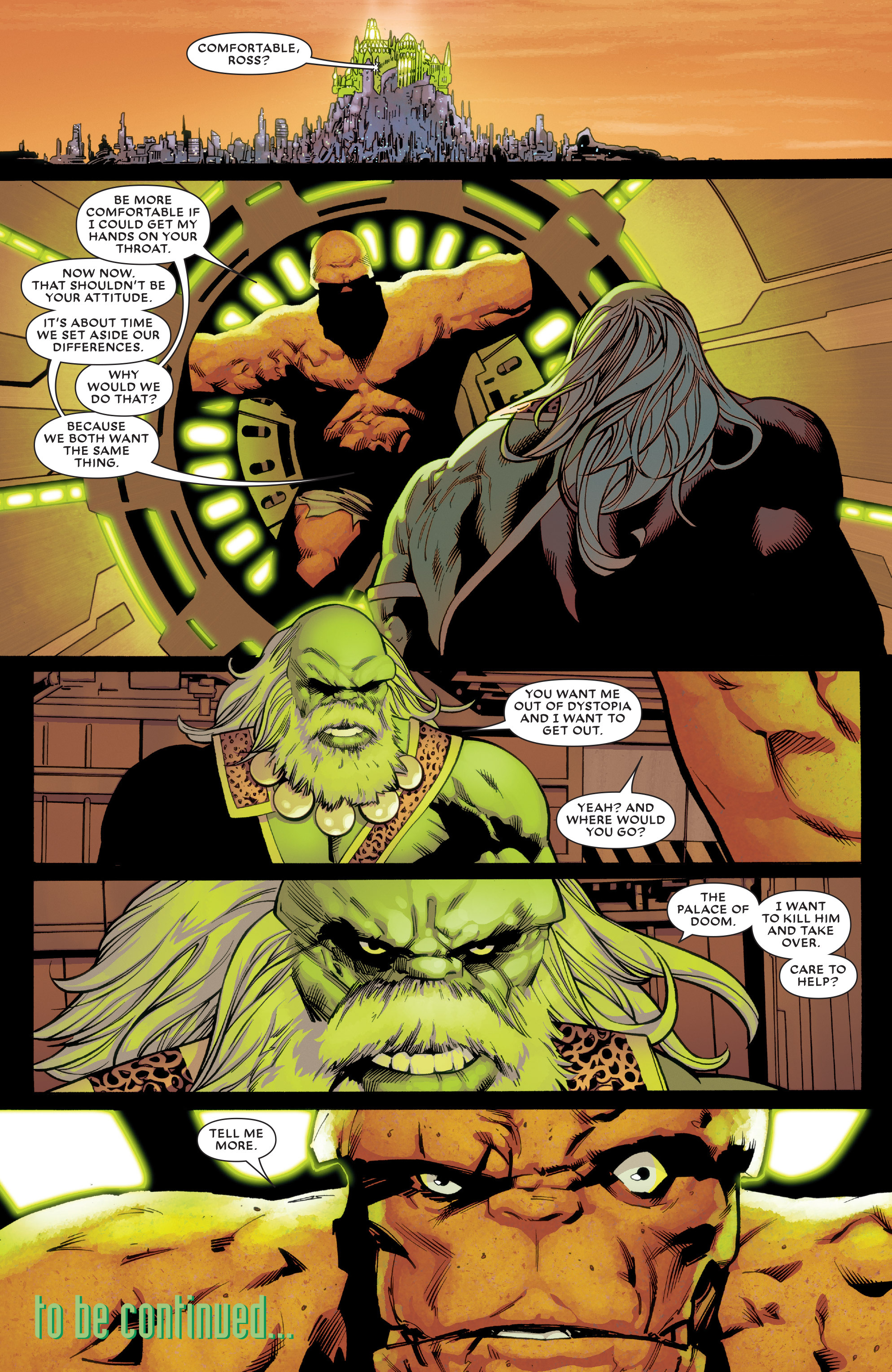 Read online Future Imperfect comic -  Issue #2 - 23