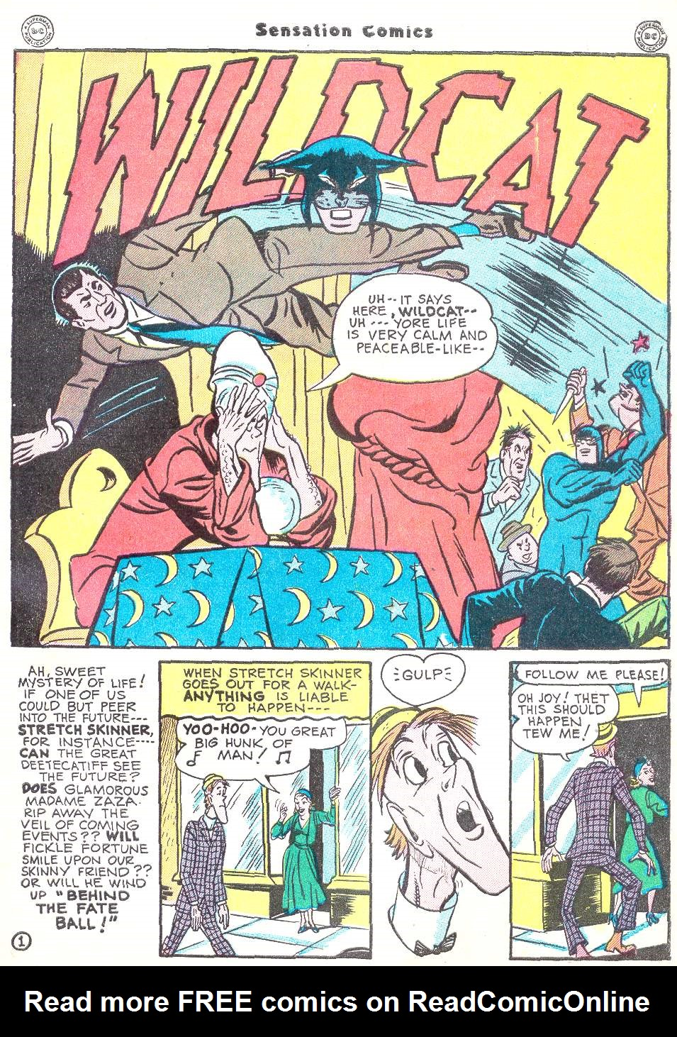 Read online Sensation (Mystery) Comics comic -  Issue #50 - 41