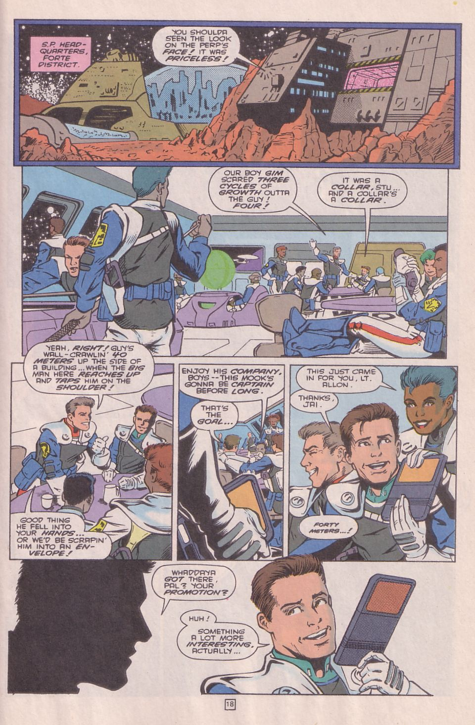 Legionnaires issue 0 - Page 19