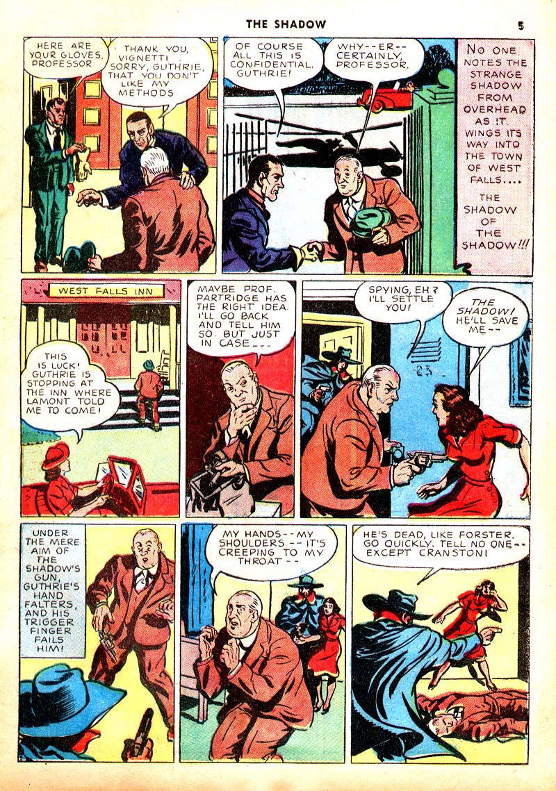Read online Shadow Comics comic -  Issue #7 - 6