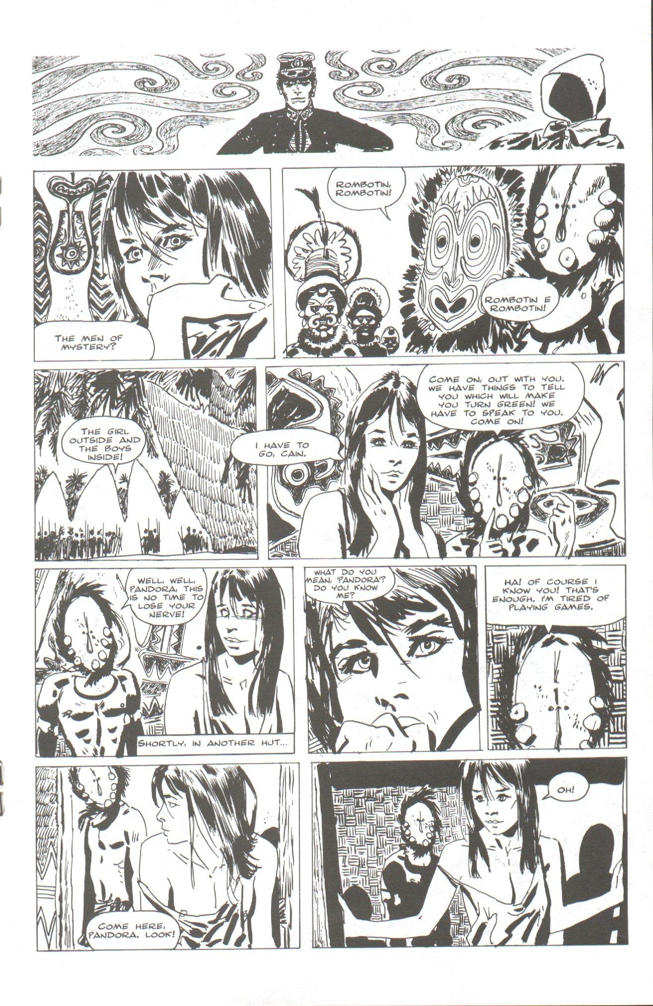 Read online Corto Maltese: Ballad of the Salt Sea comic -  Issue #2 - 15